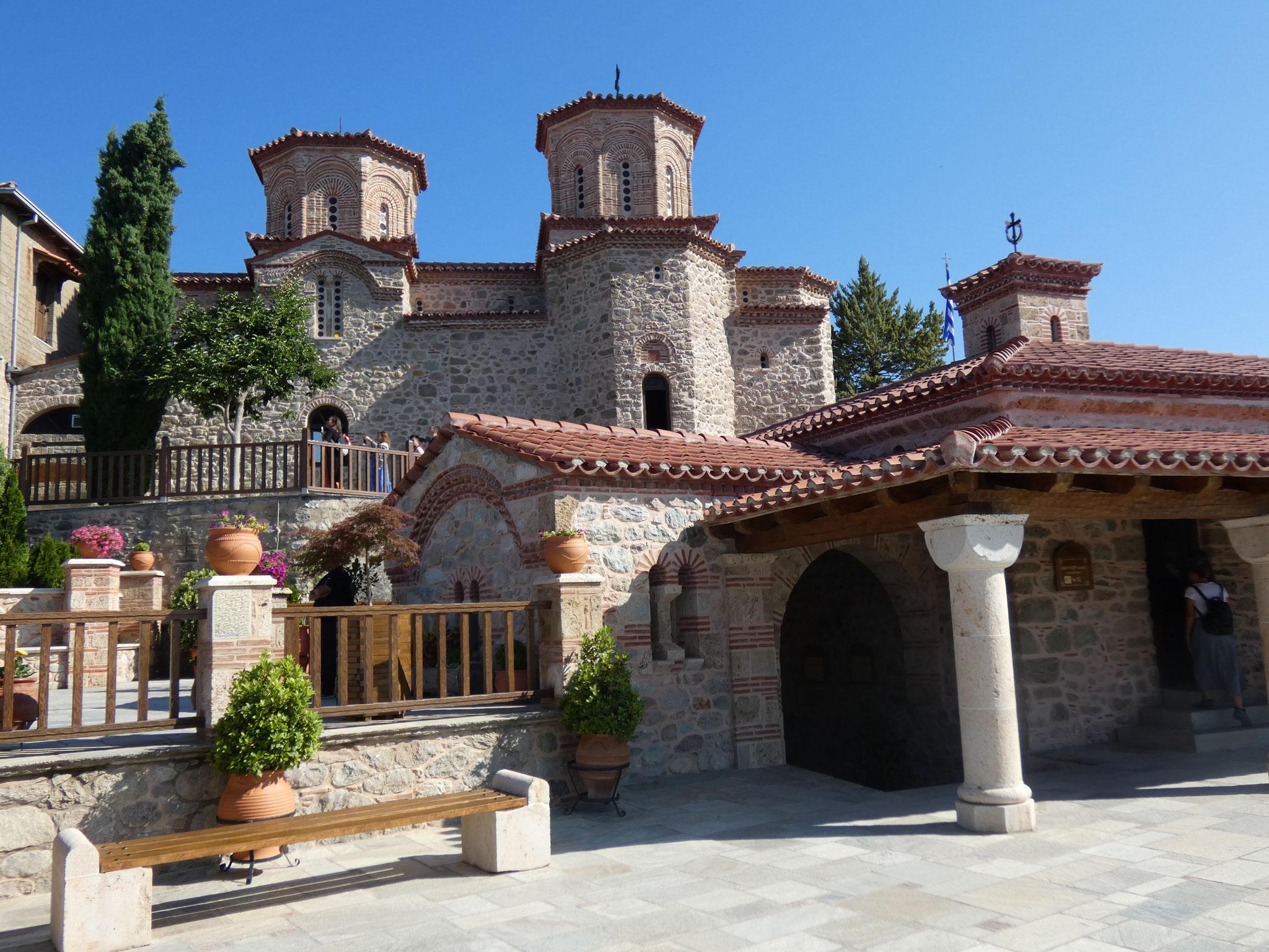 in einem Kloster
