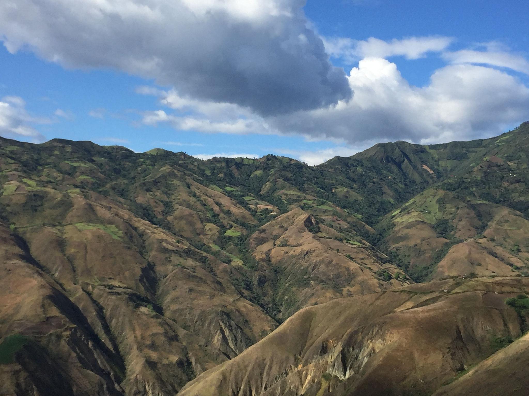 Bis zur Grenze von Kolumbien