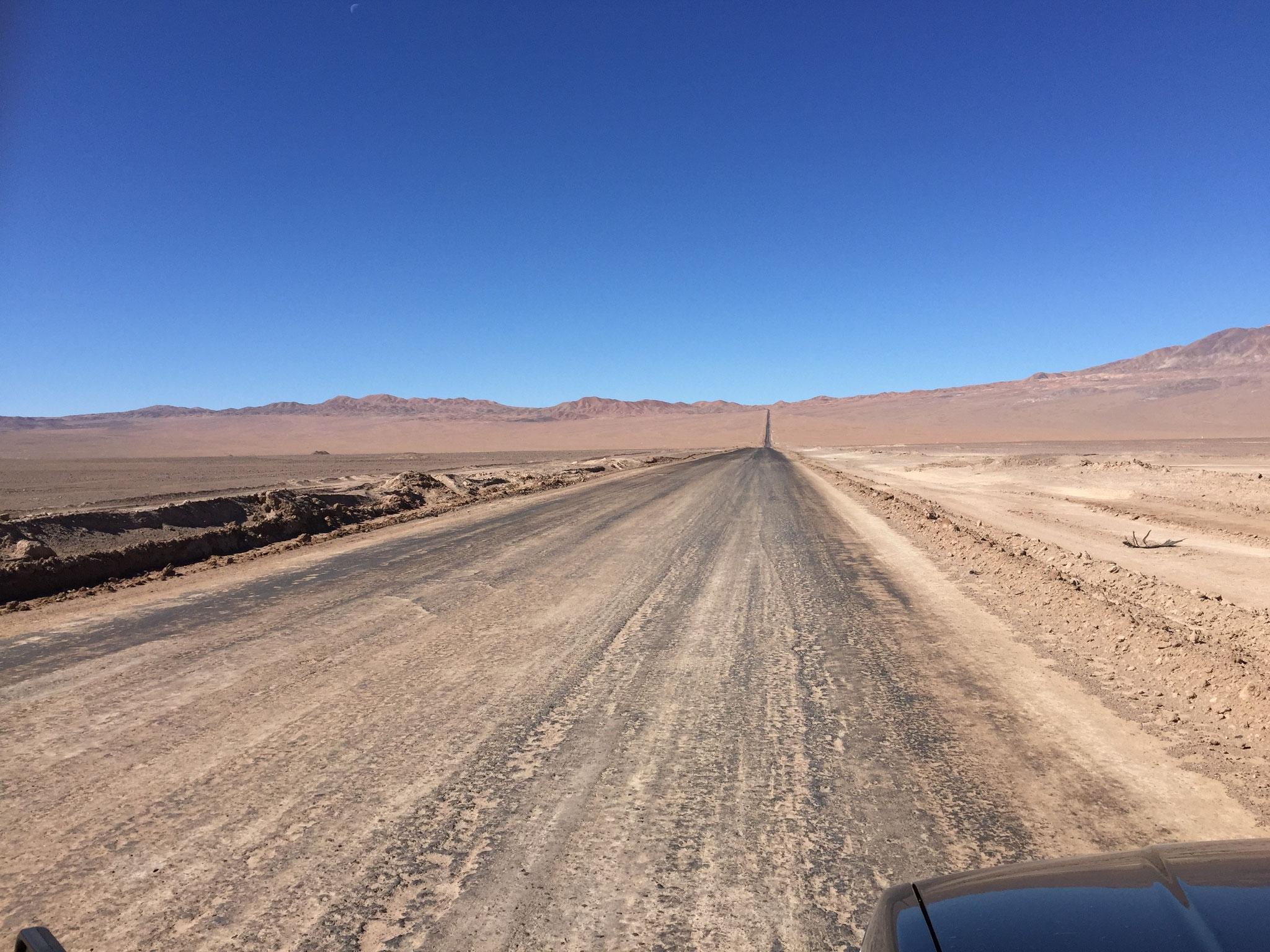 Richtung Salar Atacama