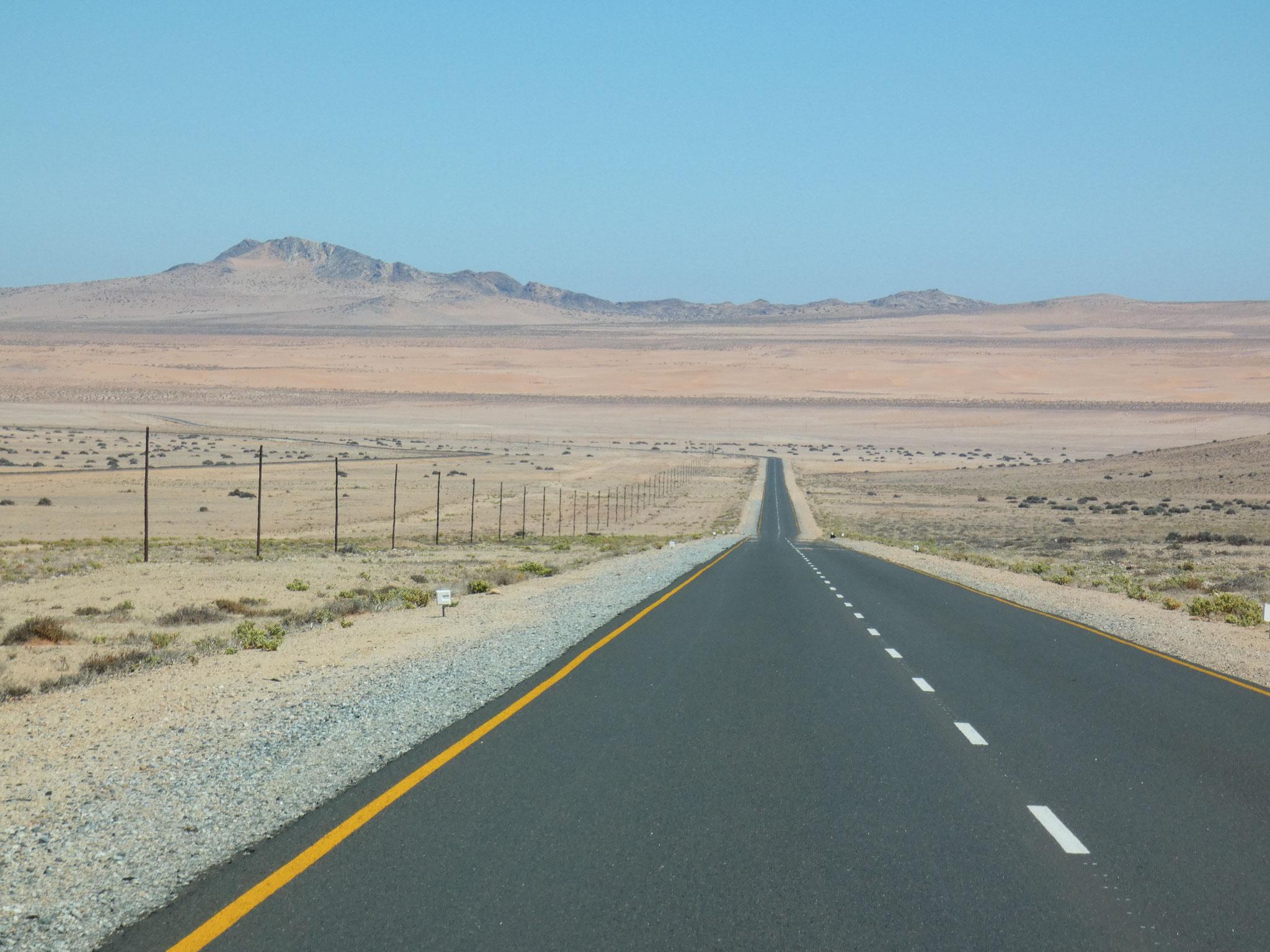Richtung Lüderitz