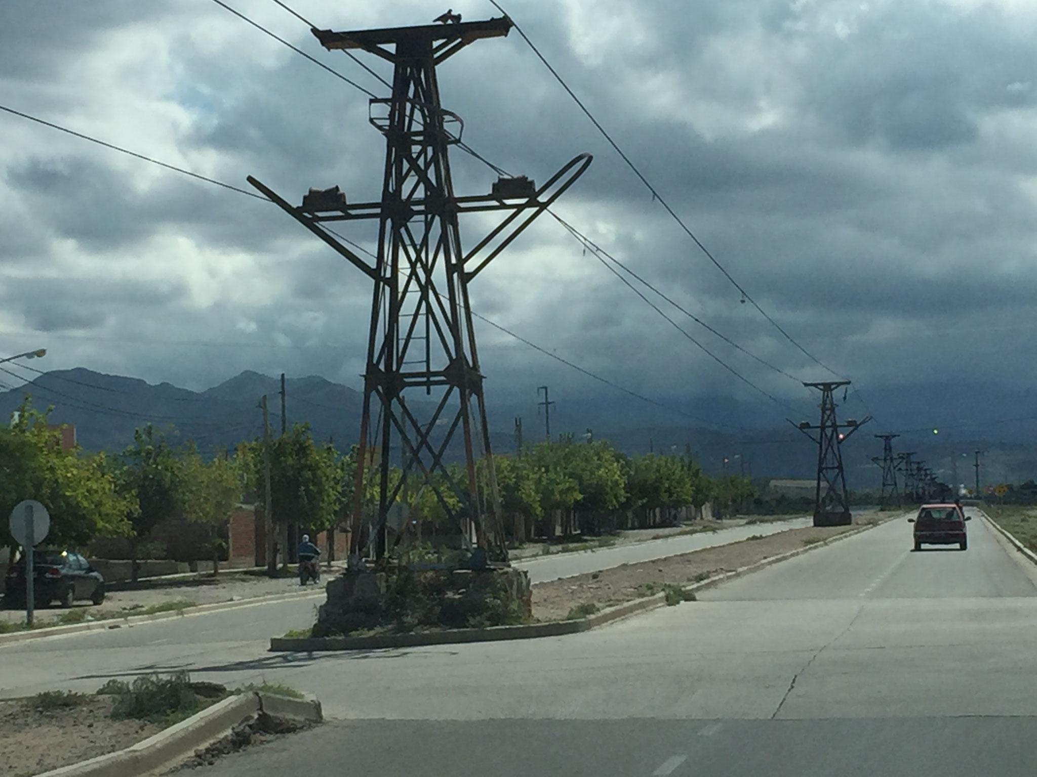Chilecito, die Schwebebahn