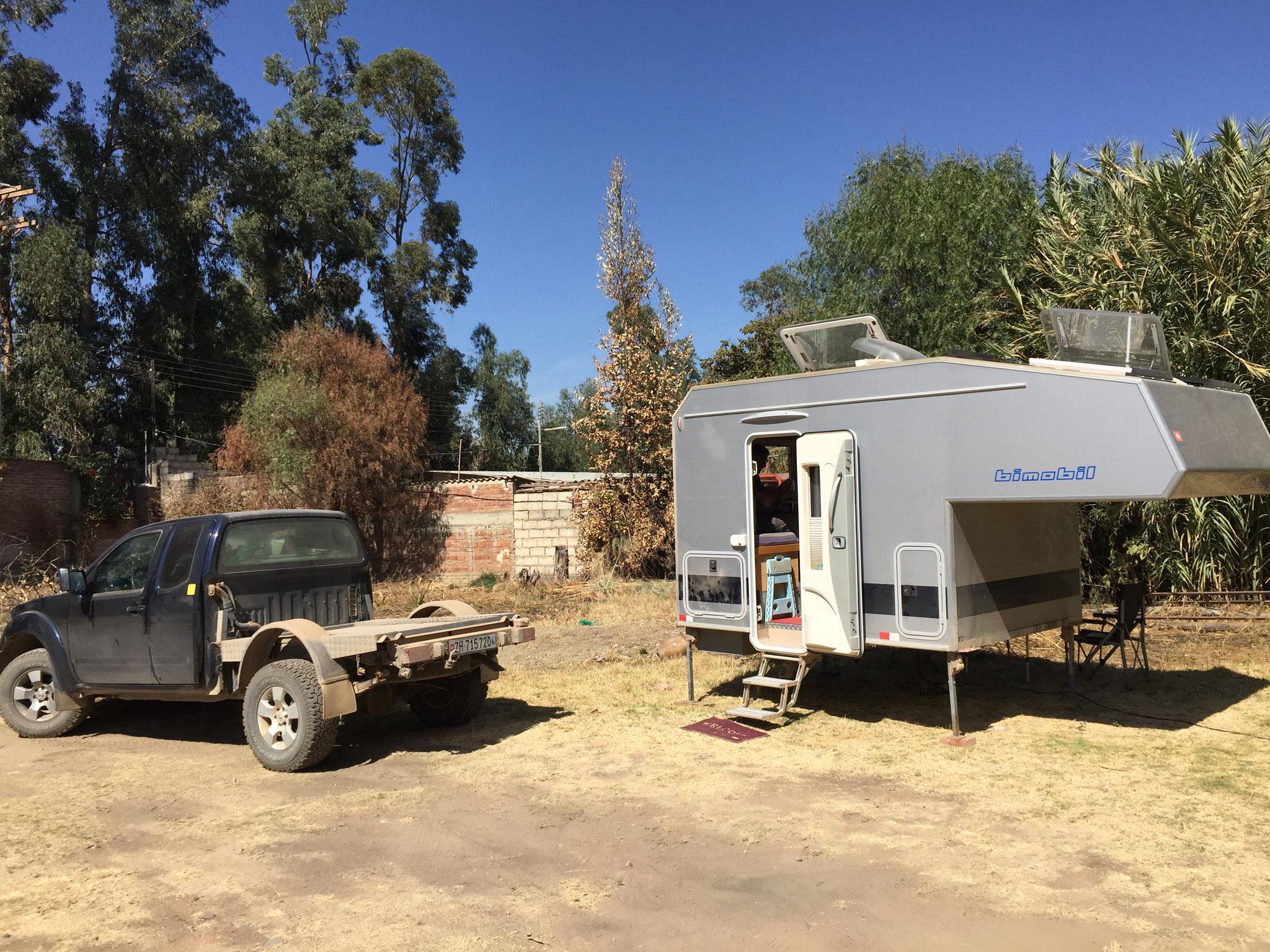 Camping auf Cochabamba