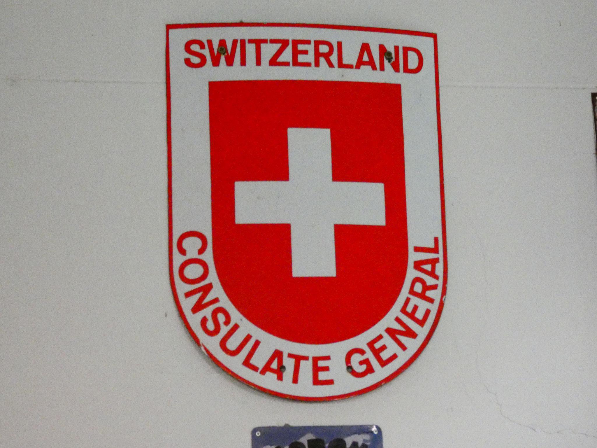 auch die Schweiz ist vertreten!