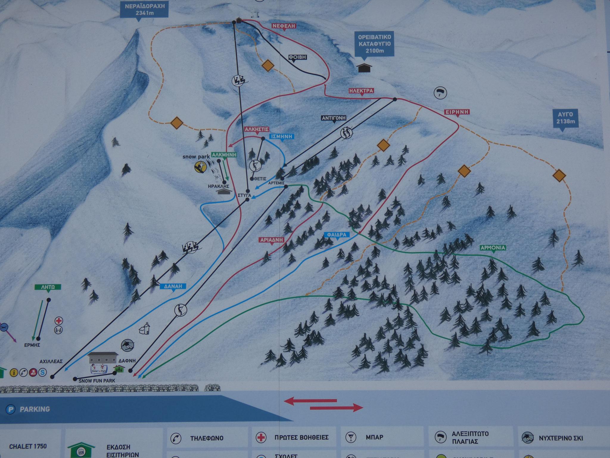 Skiarena Helmos