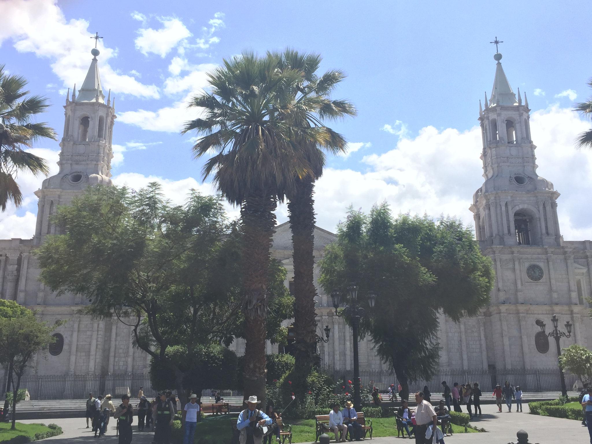 ..... mit Kathedrale