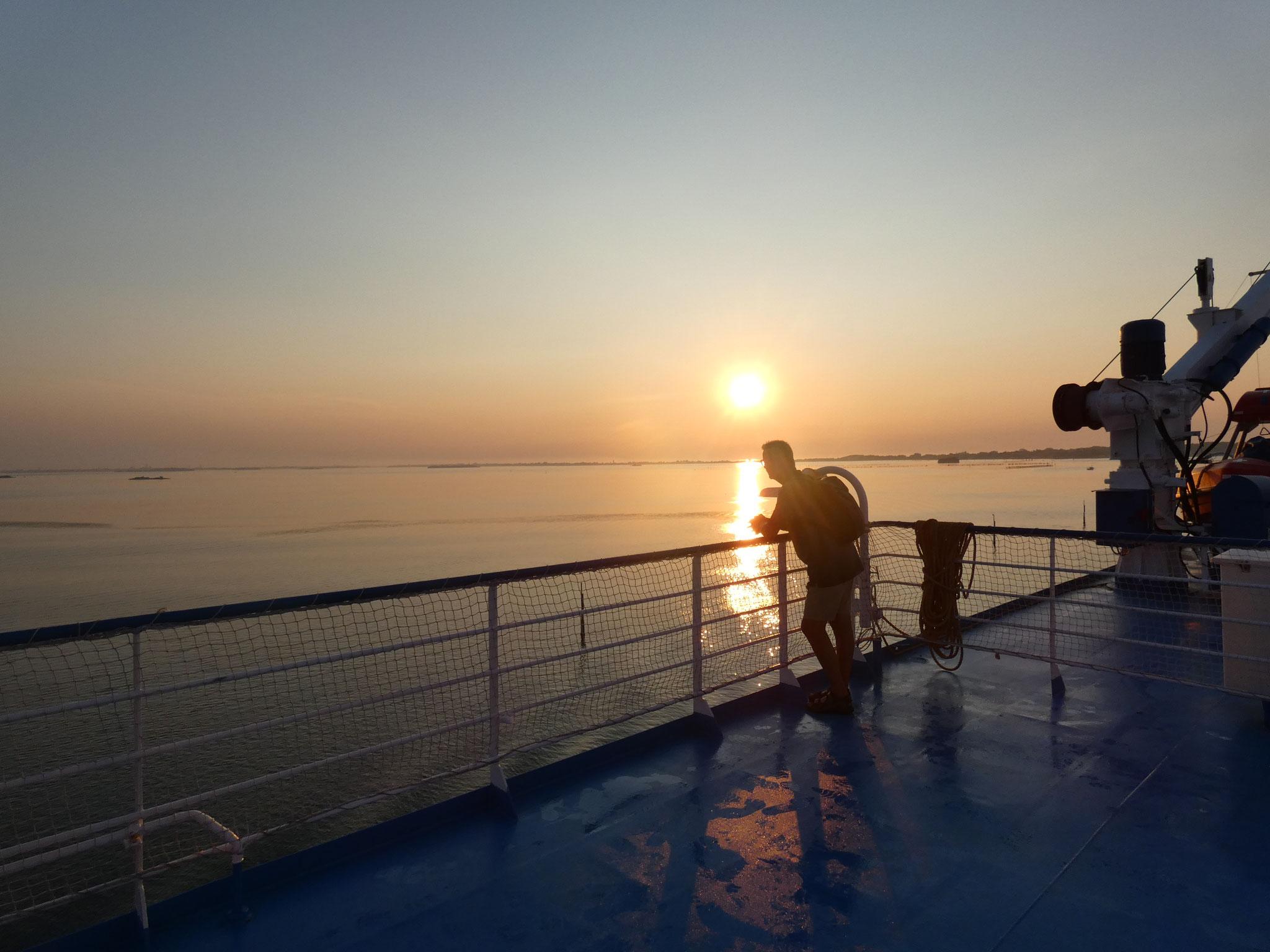 Sonnenaufgang bei Venedig