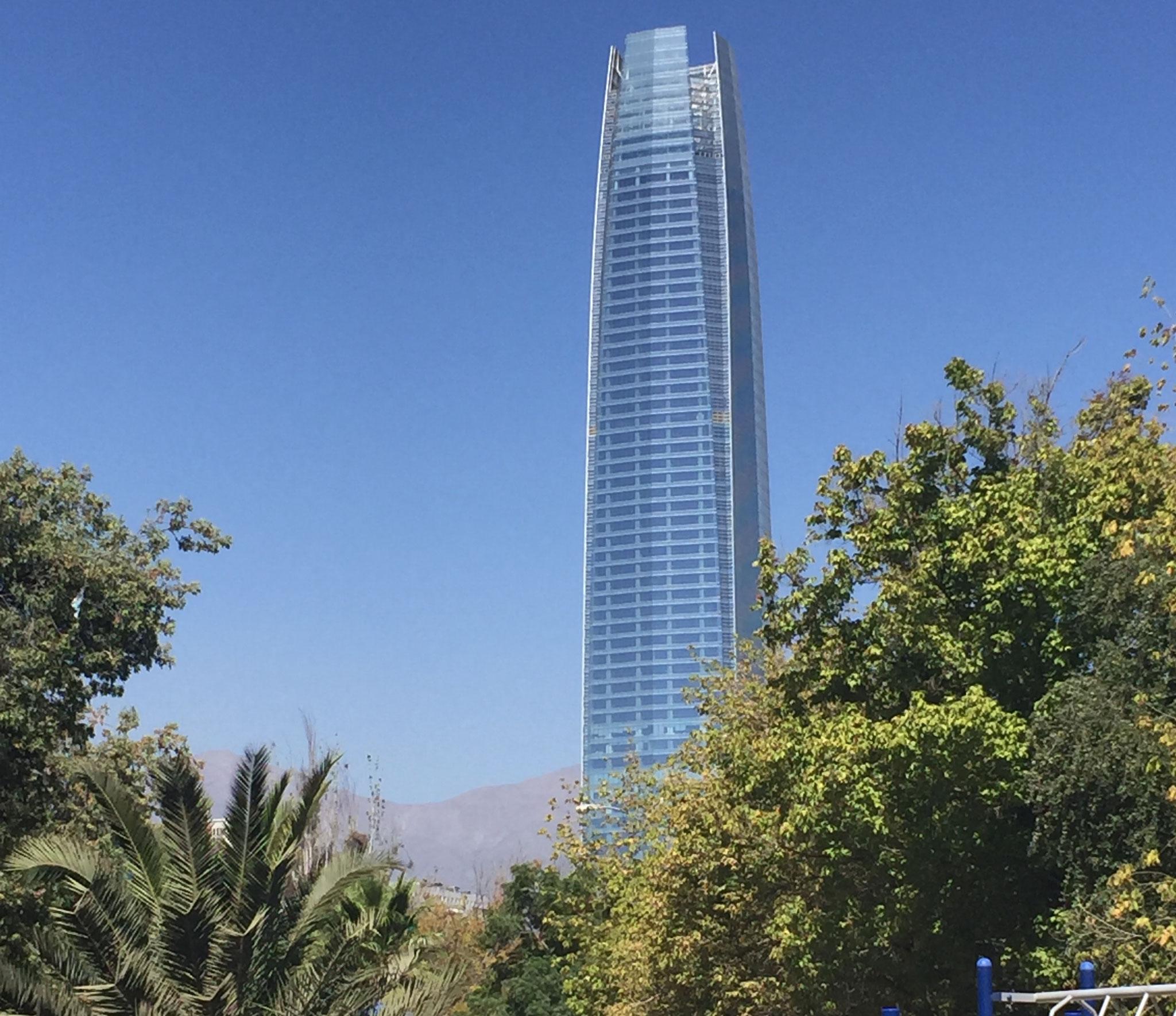 höchstes Haus in Santiago