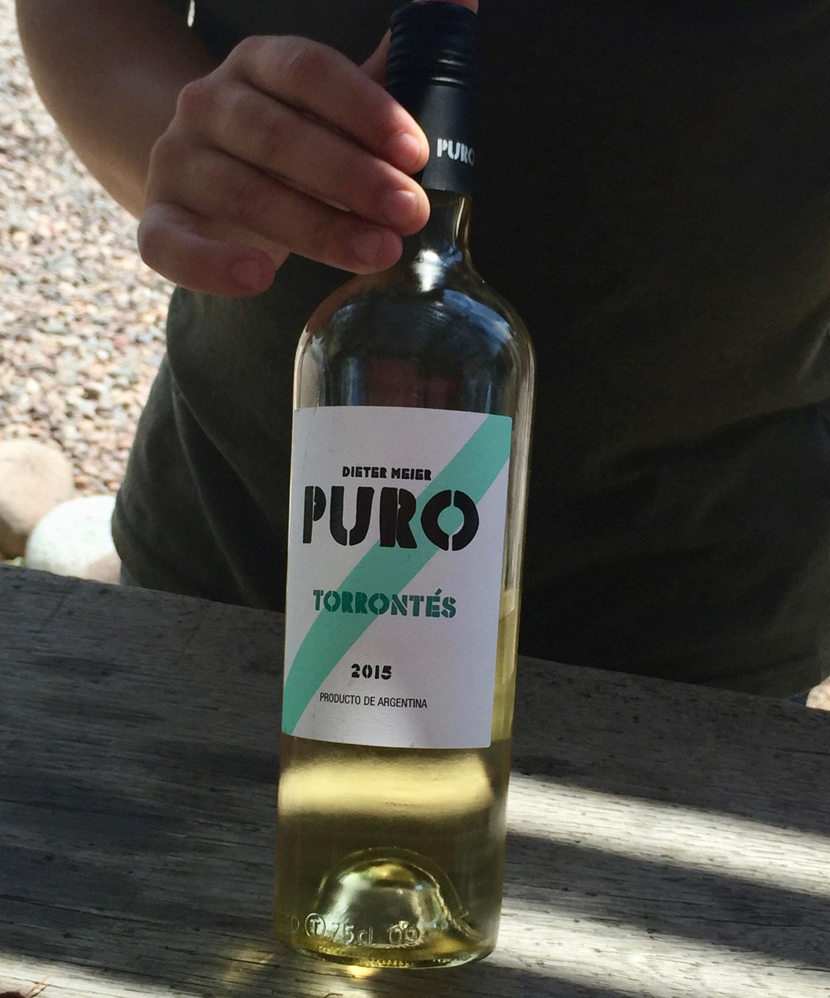 mit dem Wein!
