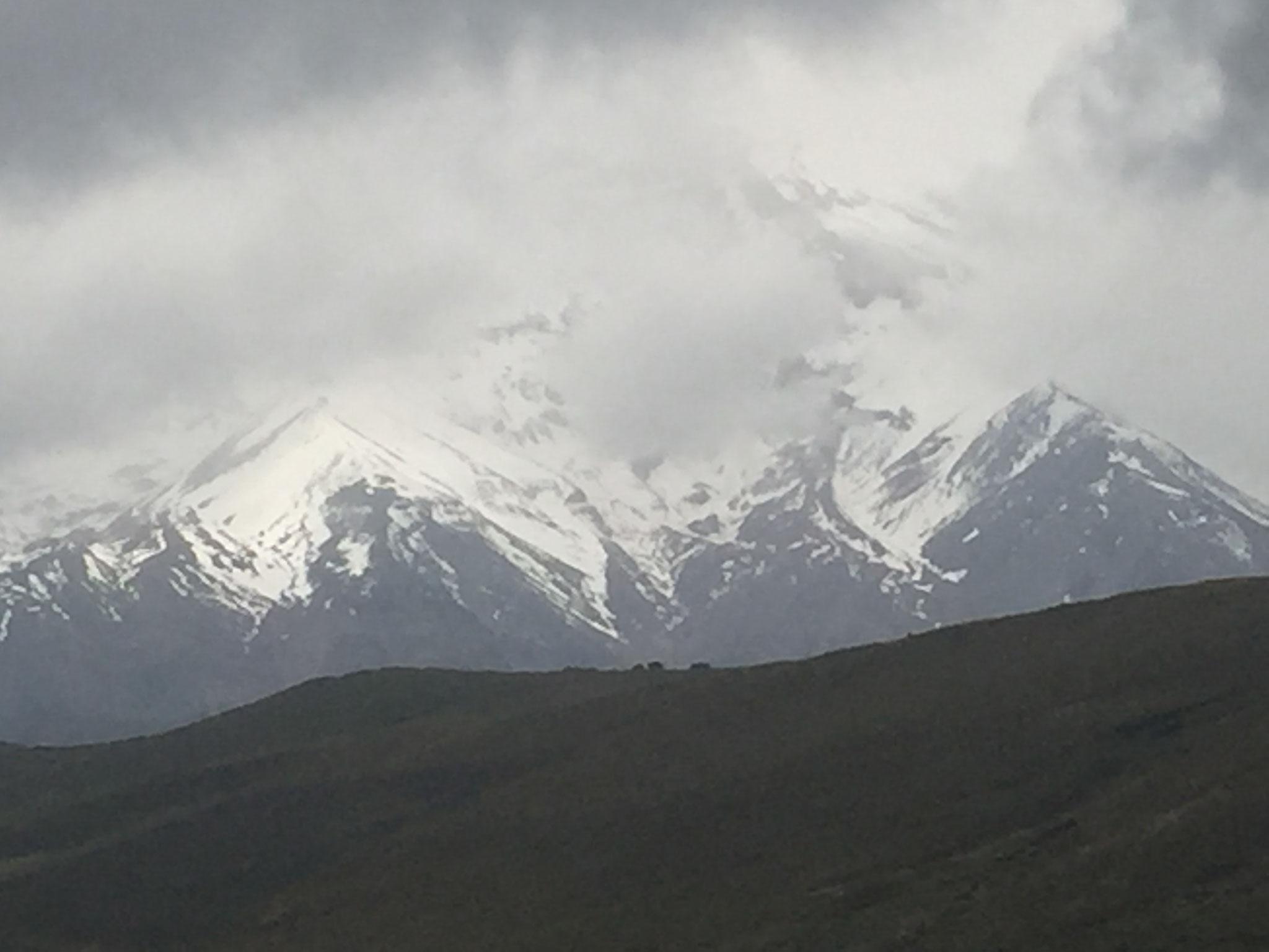 kurzer Blich auf den Chimborazo
