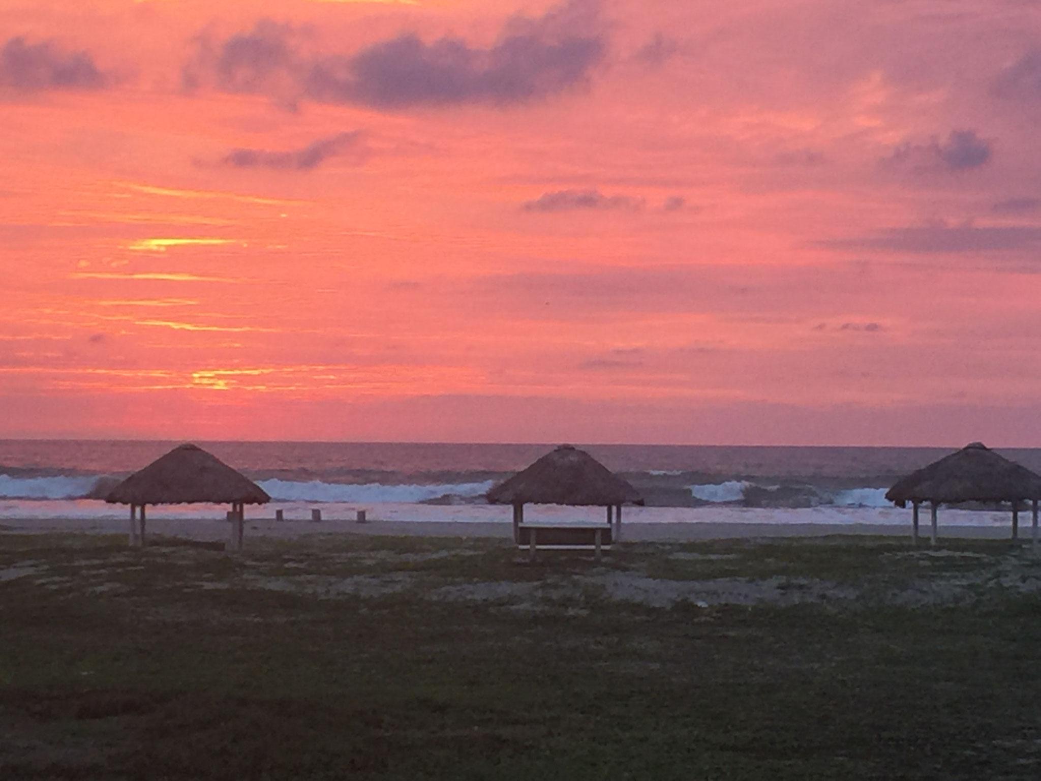 Sonnenuntergang in Cojimes