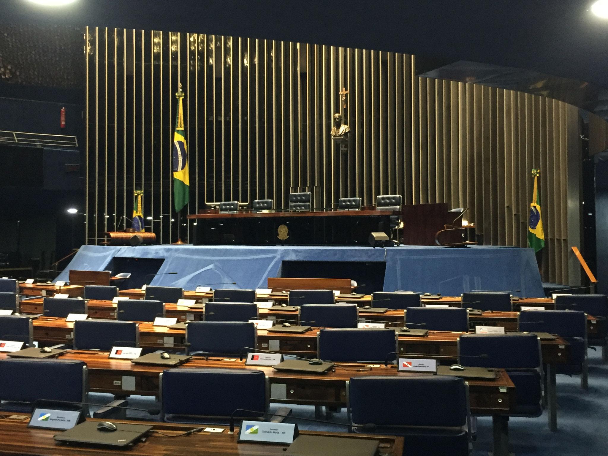 eine Kammer im Parlament