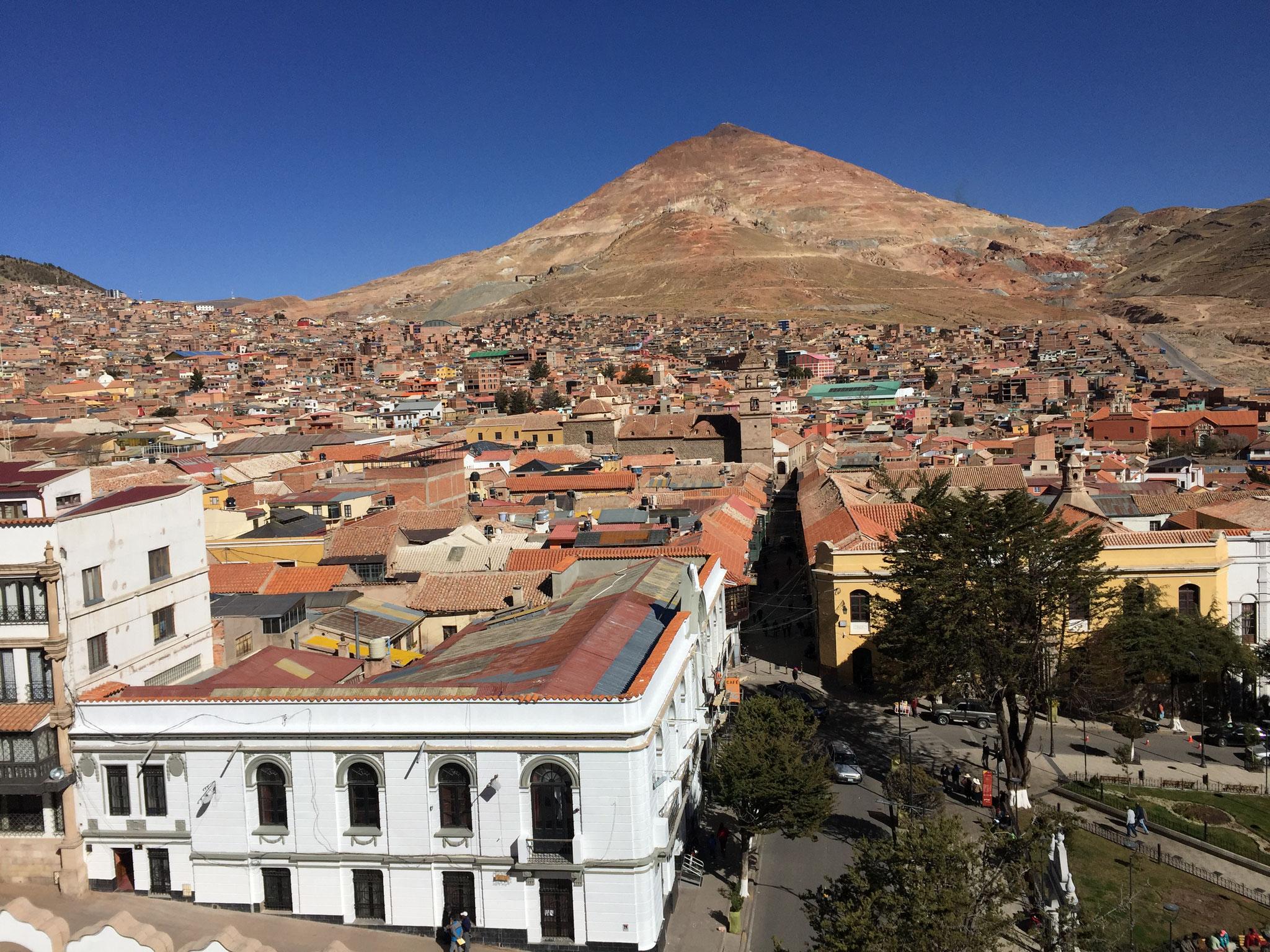 .... und den Cerro Rico....