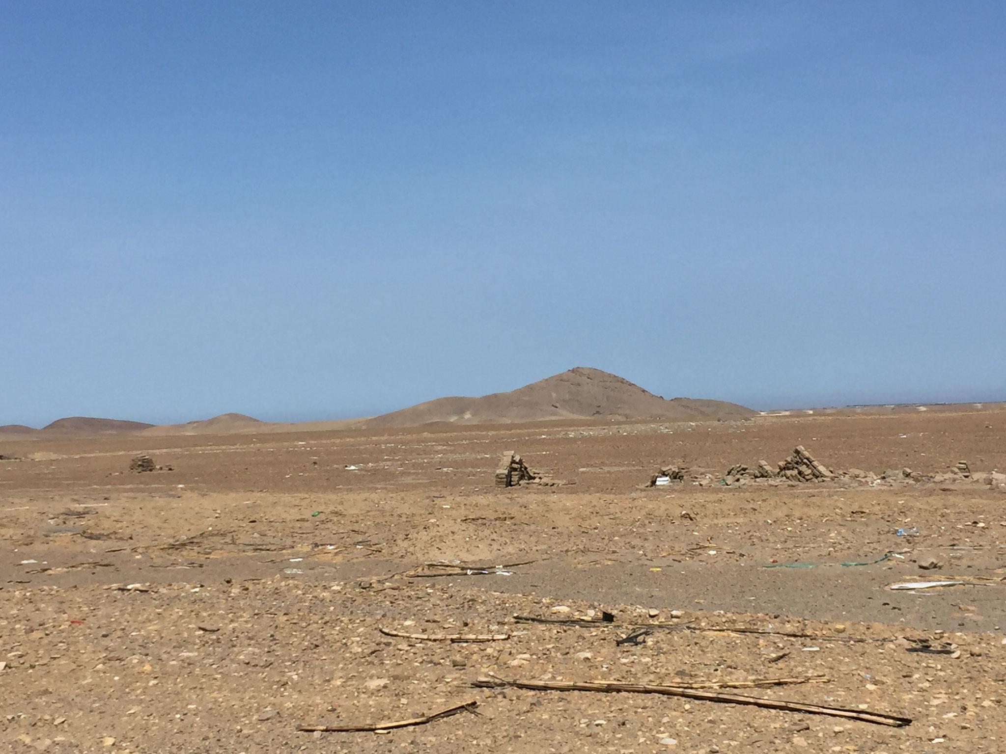 Weiterfahrt durch die Wüste