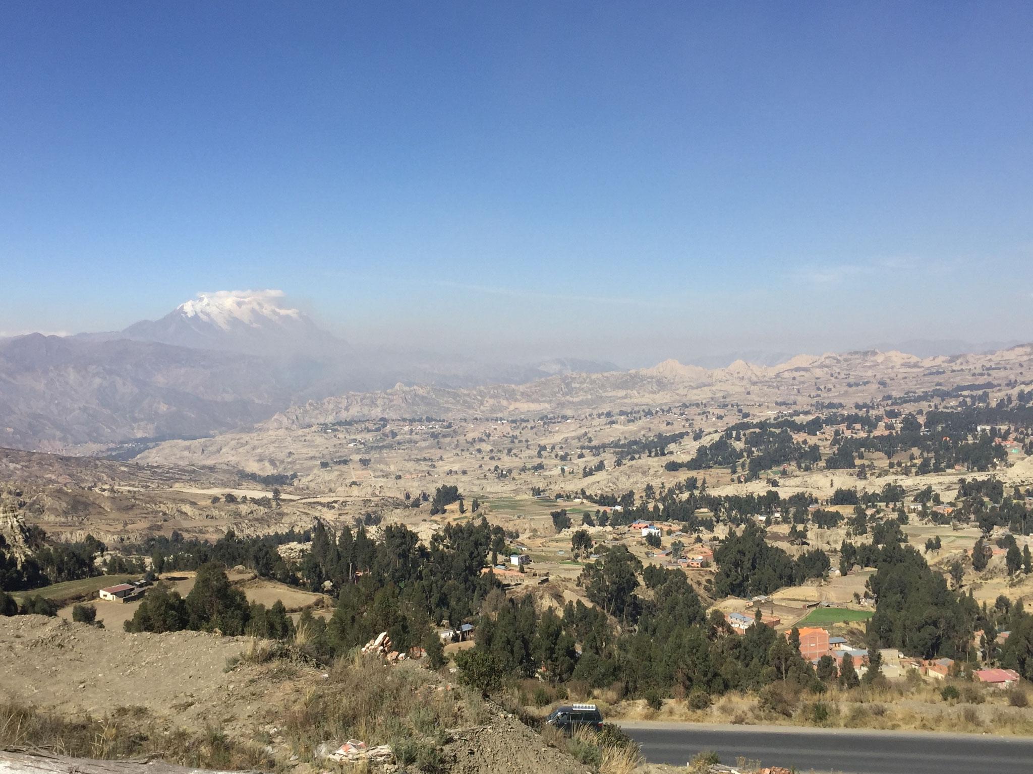 Richtung La Paz auf über 4000m