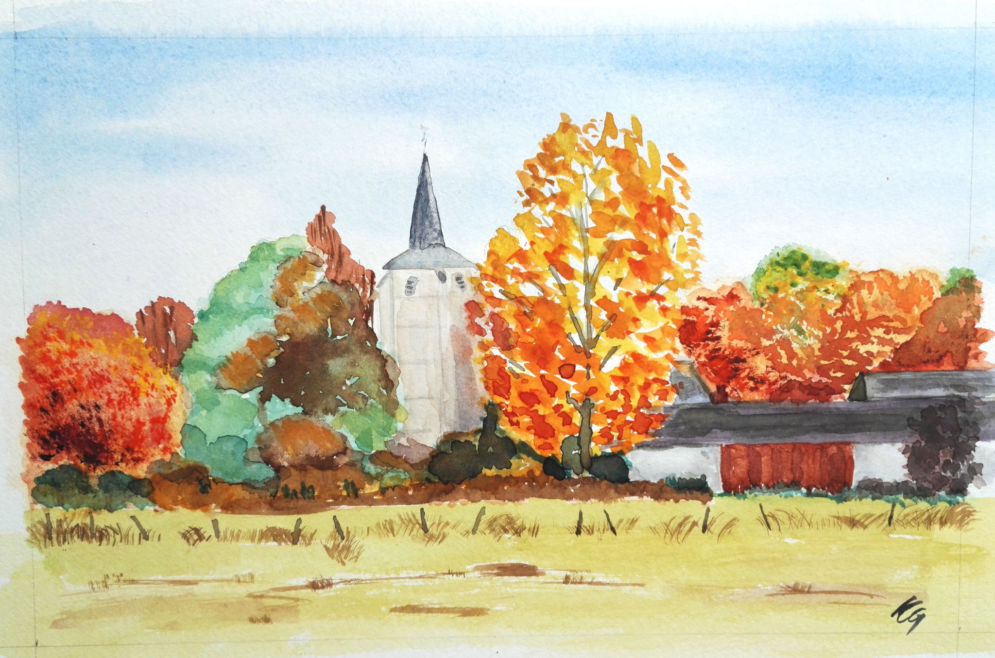 aquarelle de Martine