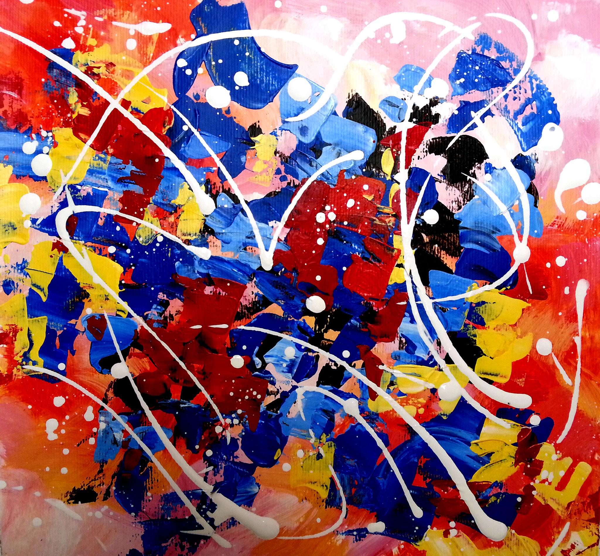 peinture abstraite par Olivia