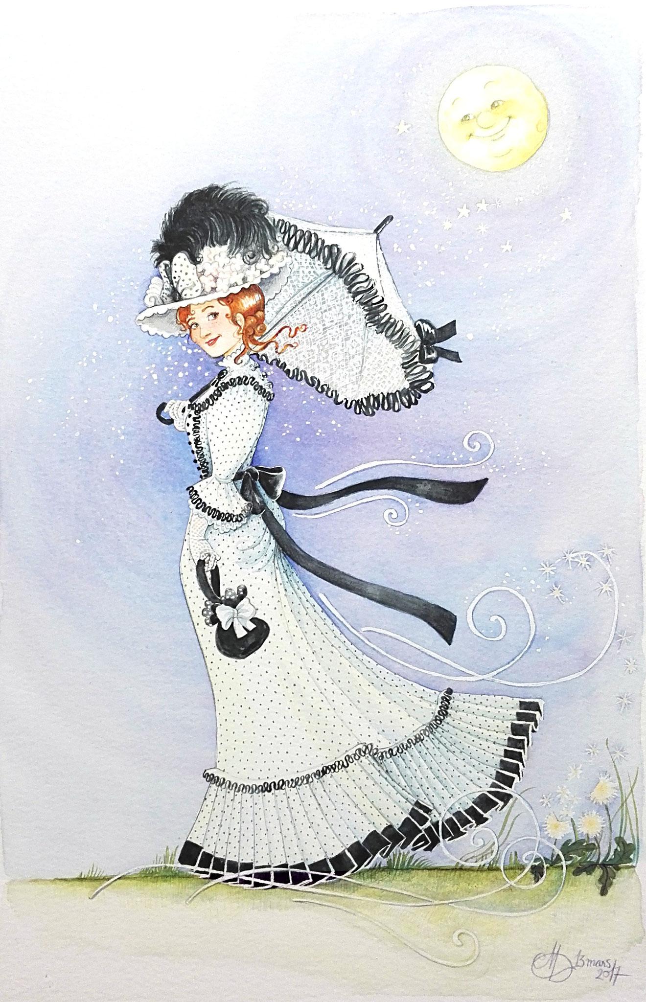 aquarelle de Madeline