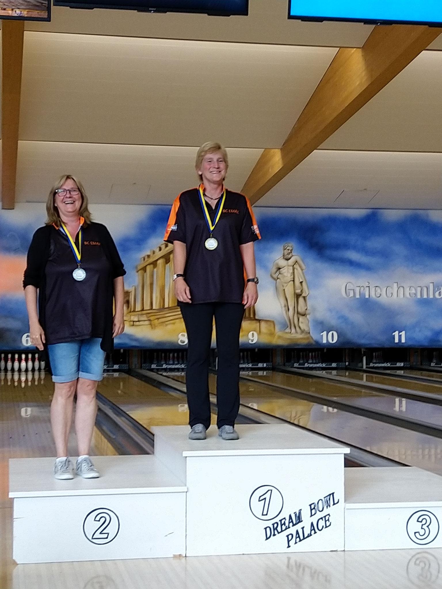 Siegerehrung Seniorinnen A