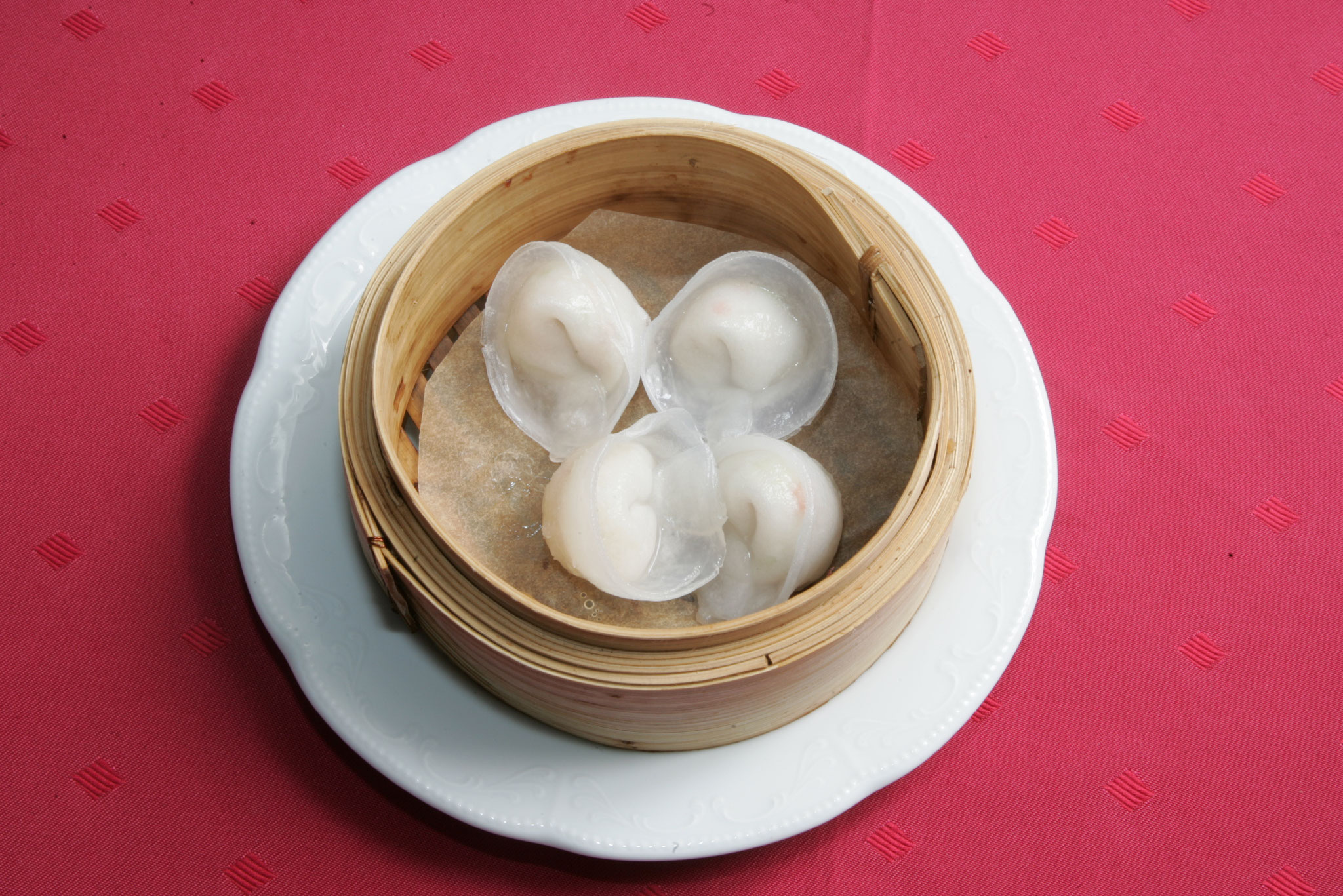 Steamed Dumpling with Chicken and Chinese Cabbage