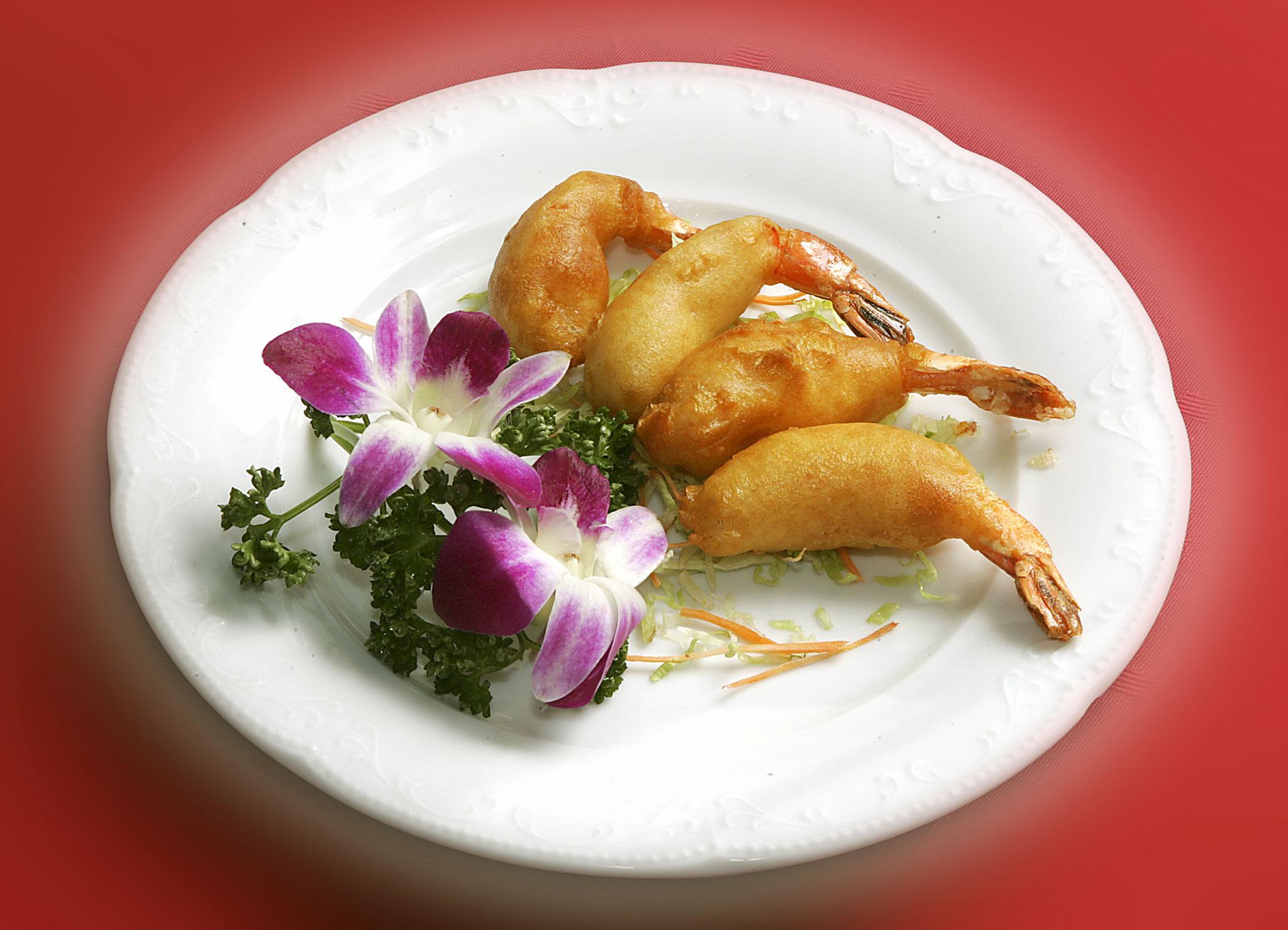 Deepfried Shrimps