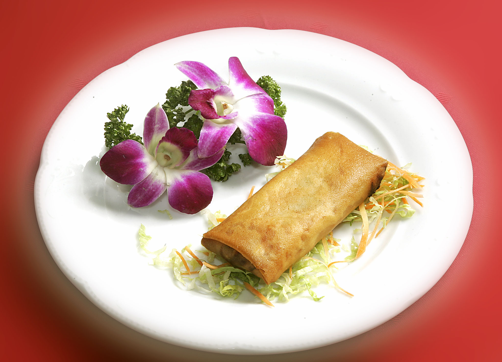 Spring roll in different variants