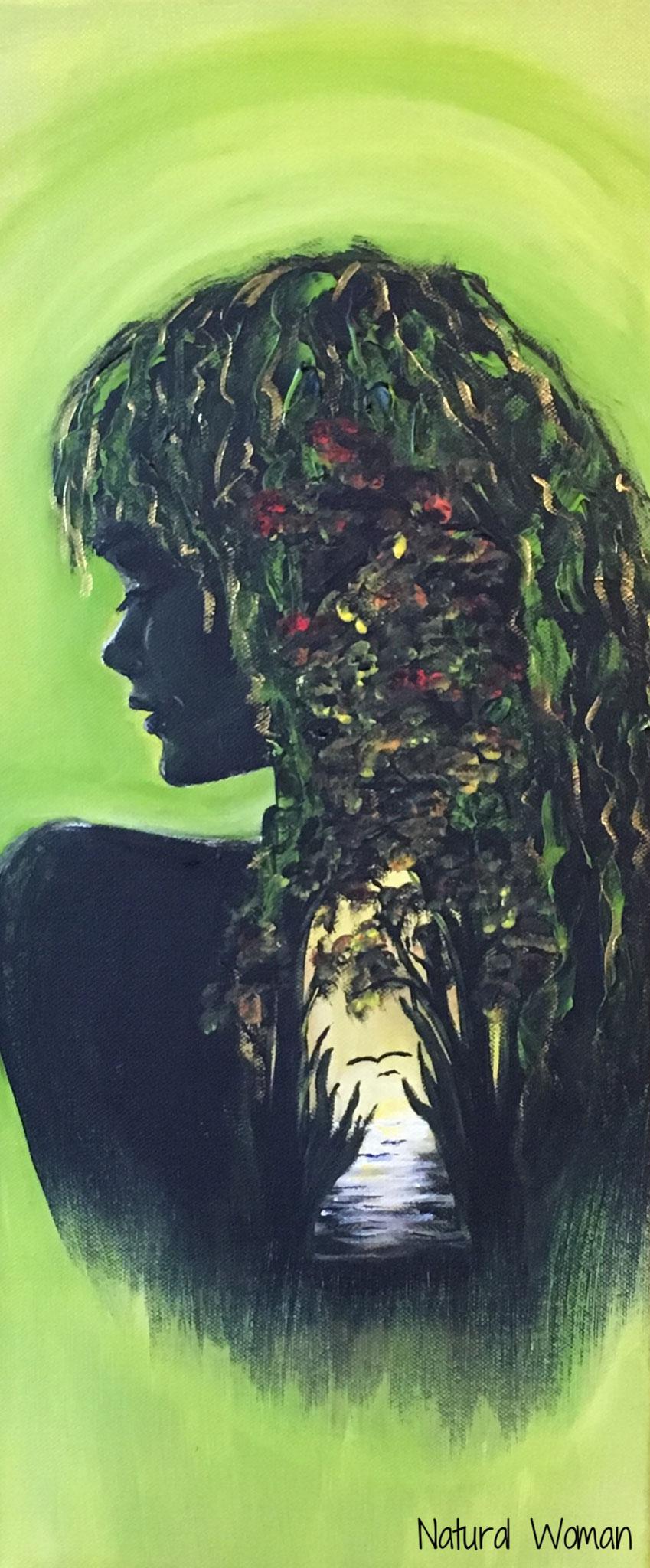 Natural Woman (20 x 60 / Acryl)