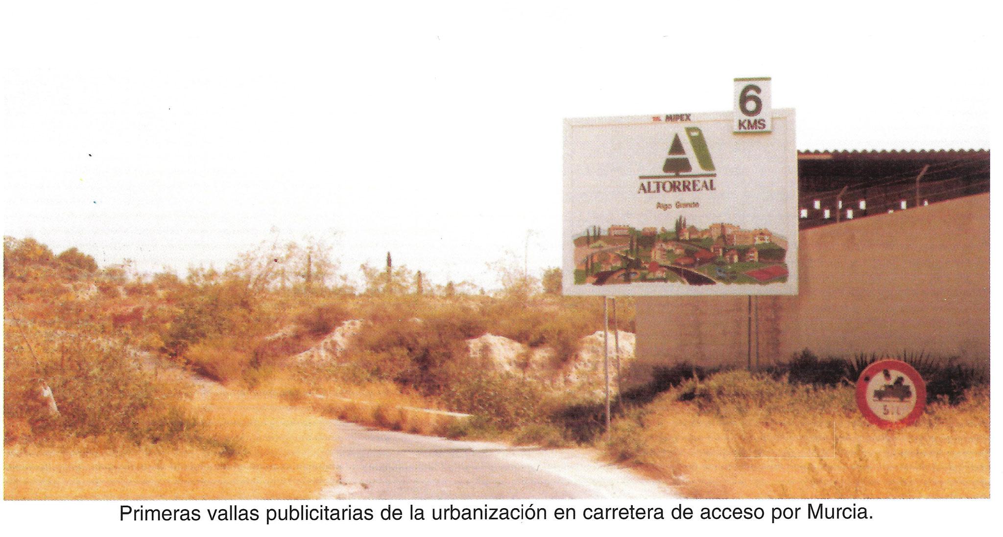 Antigua Carretera Espinardo-Altorreal