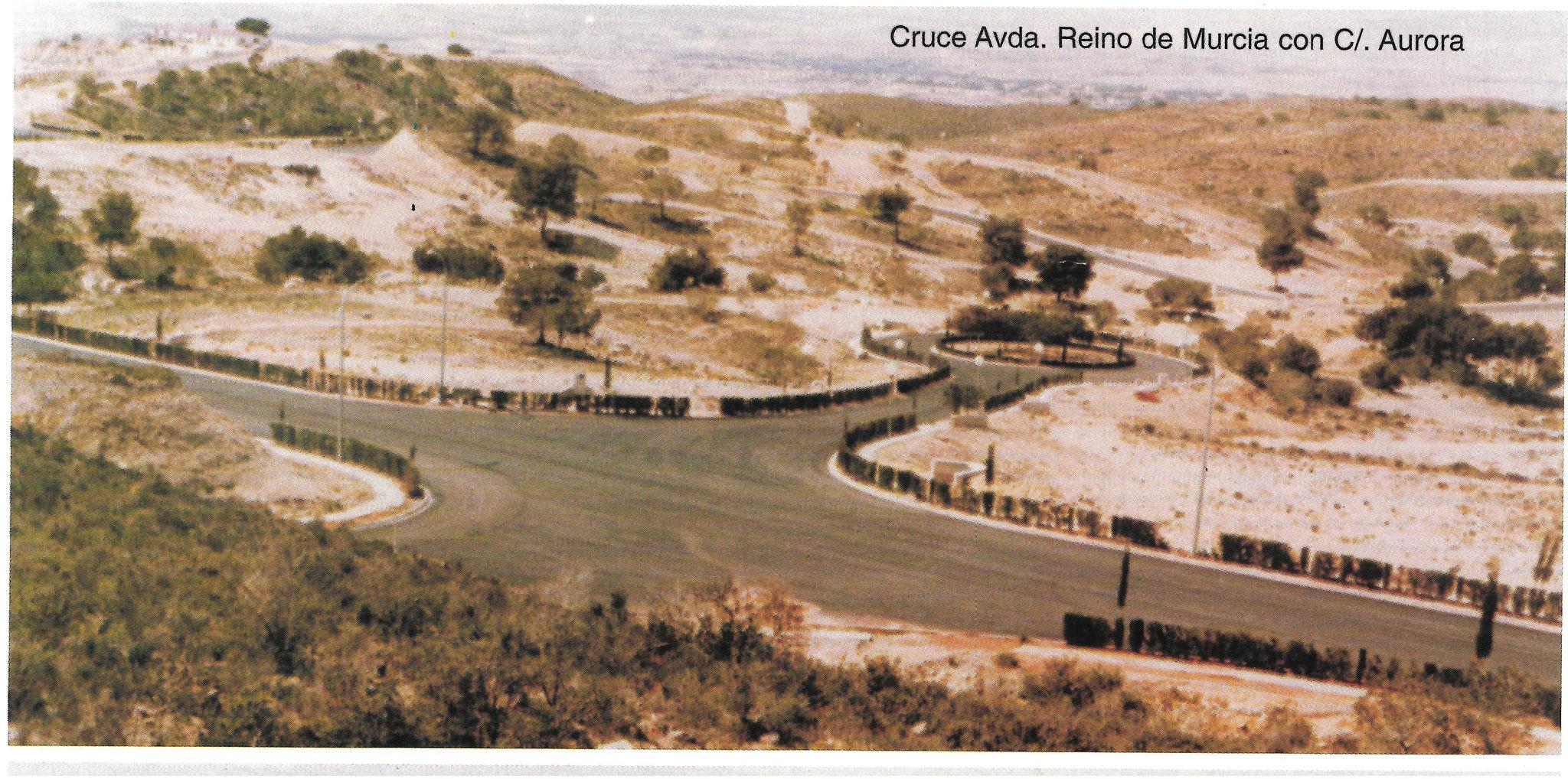 Reino de Murcia con calle Aurora
