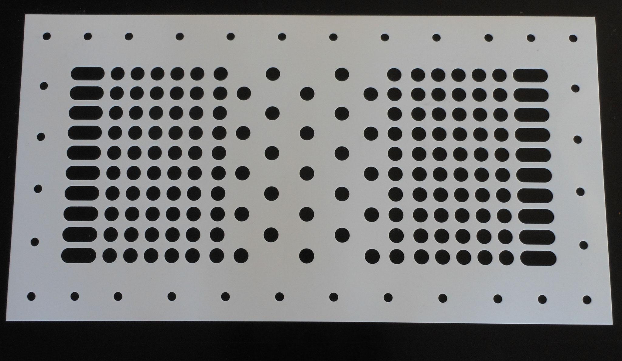 Lochplatte PTFE 3mm