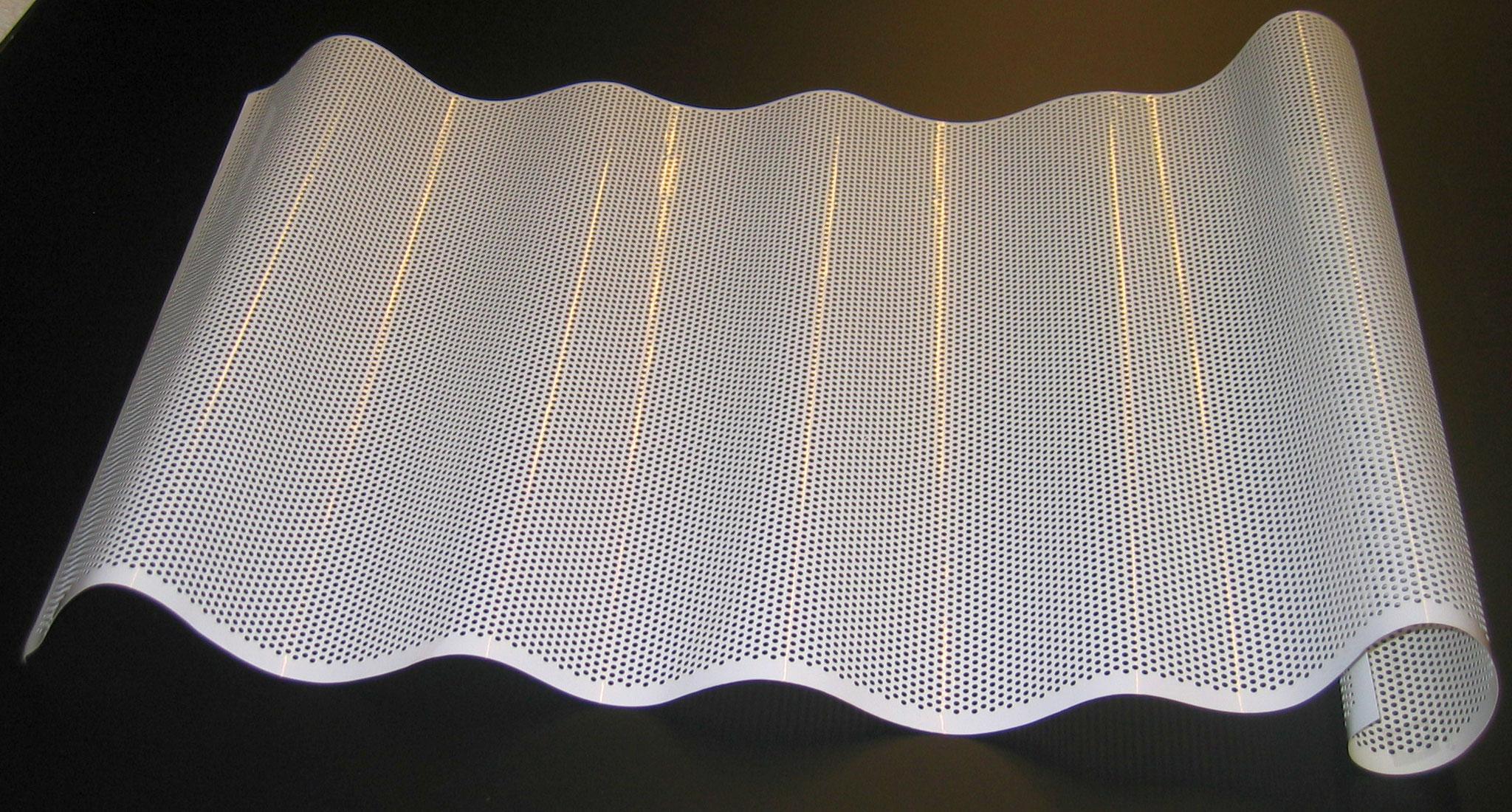 Werkzeugtechnik - gebohrte Folie