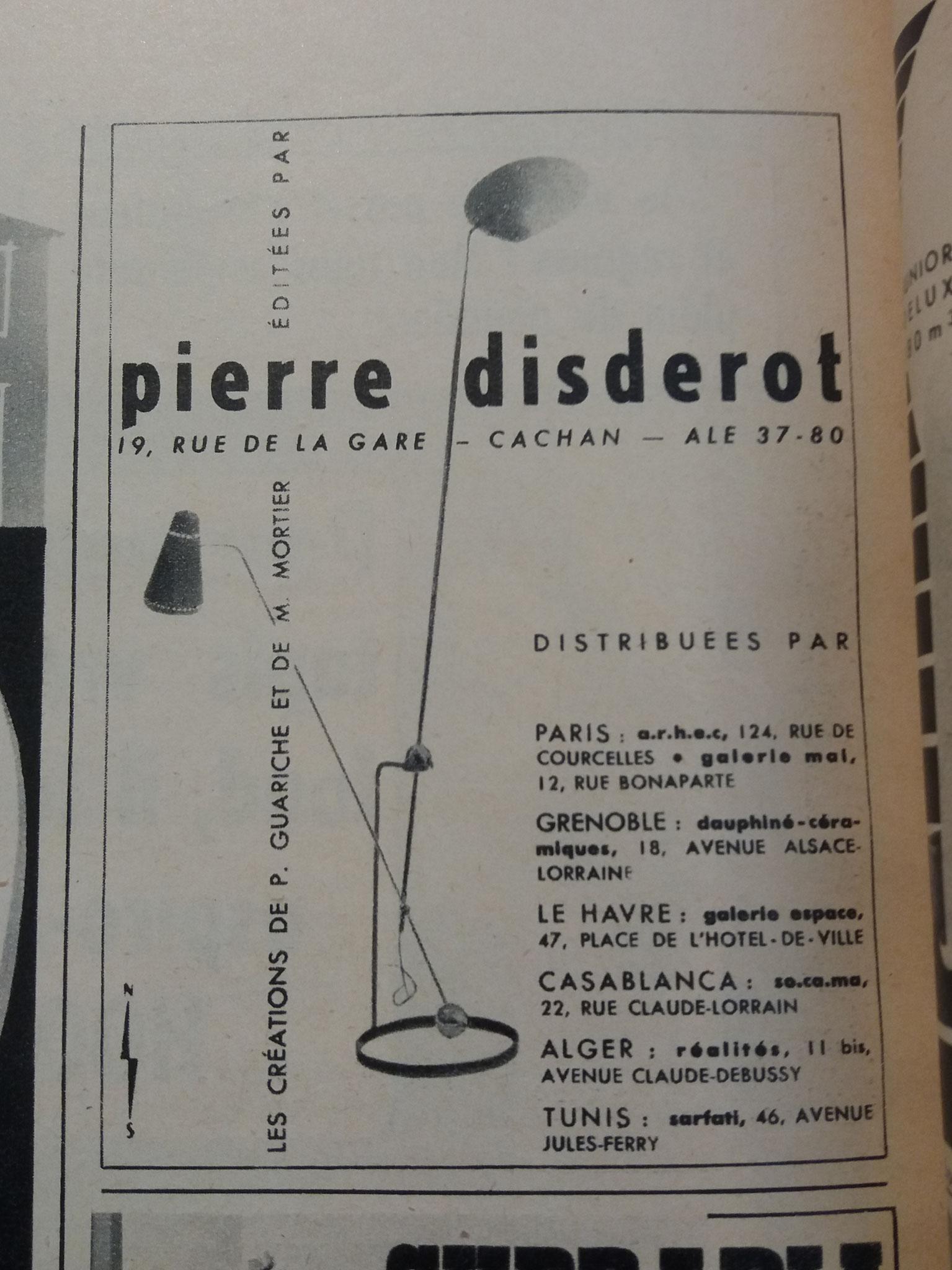 Publicité Disderot, c. 1952
