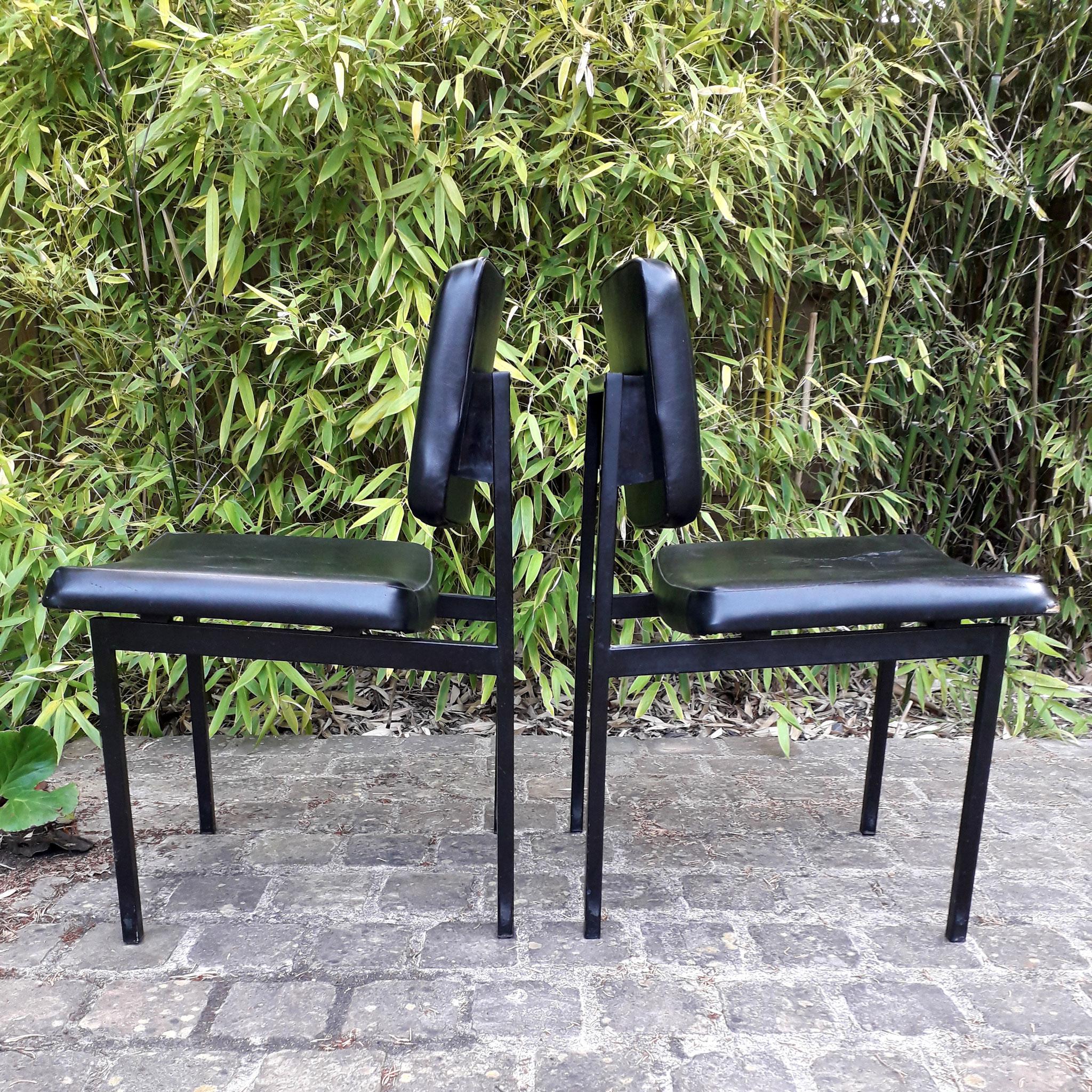 Paire de chaises, édition Thonet, c.1960