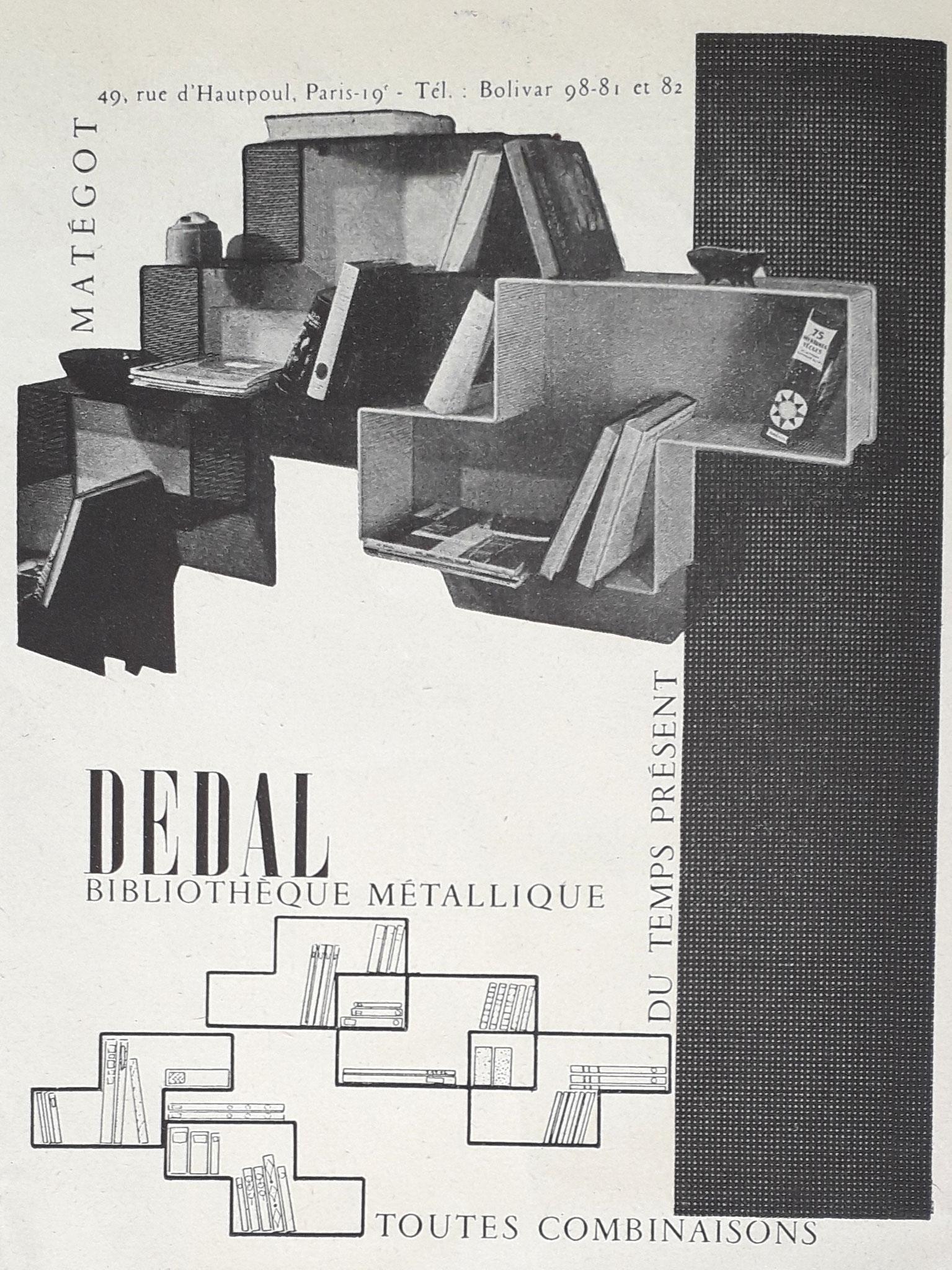 Publicité c. 1955