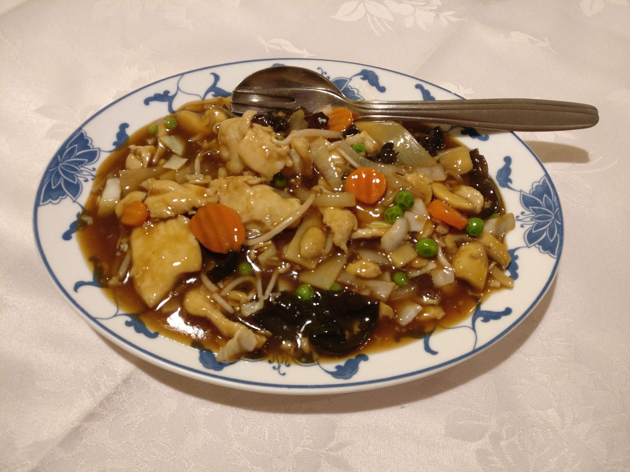 Hühnerfleisch Chop Suey