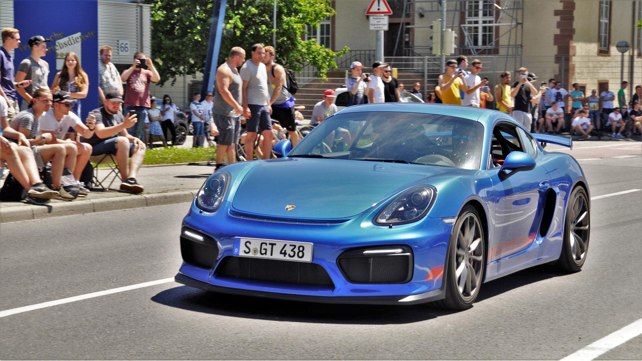 Porsche Cayman GT4 - S-GT-438