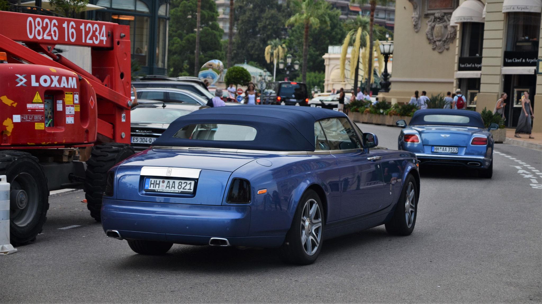 Rolls Royce Drophead - HH-AA-821