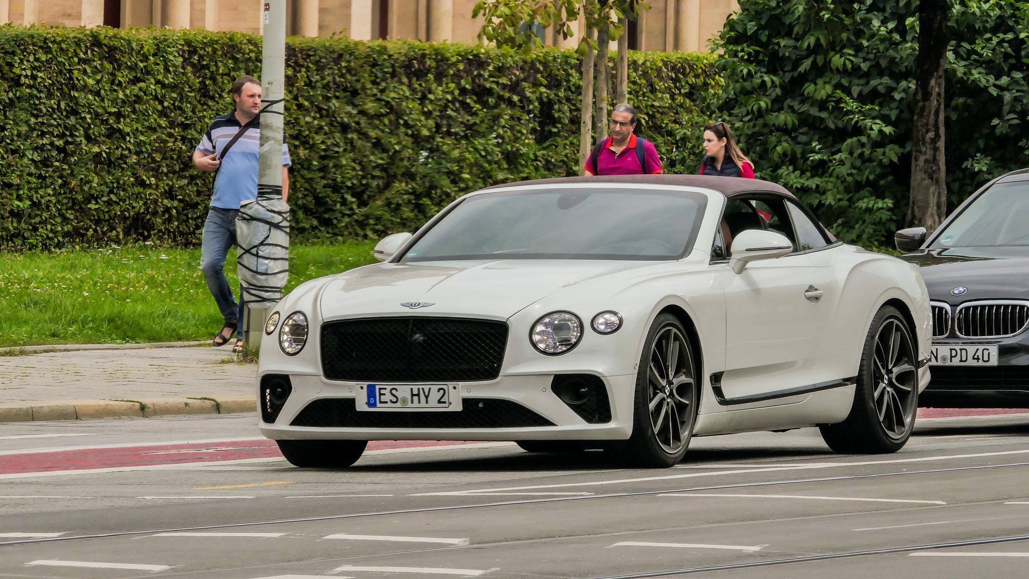 Bentley Continental GTC - ES-HY-2