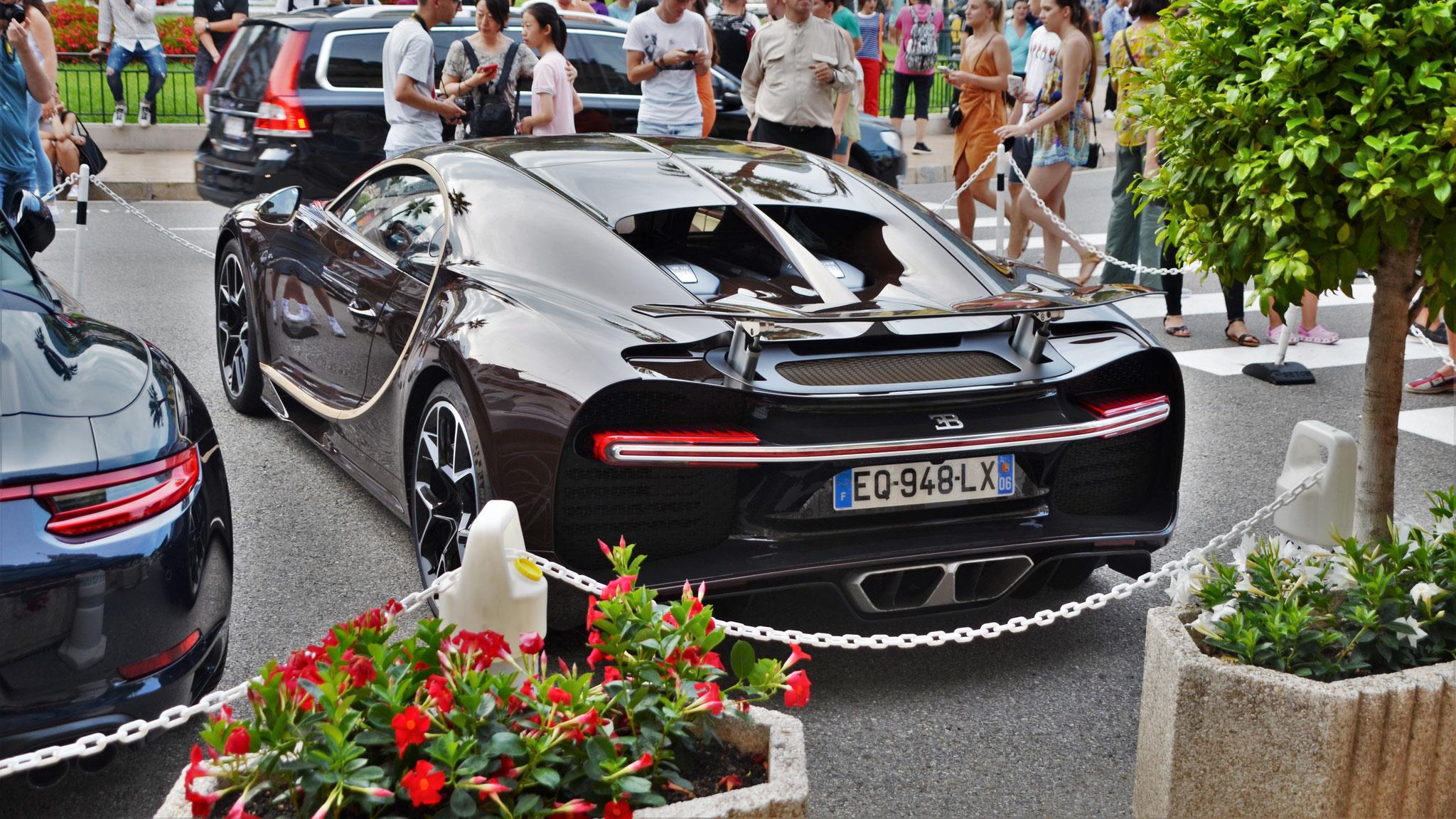 Bugatti Chiron - EQ-948-LX-06 (FRA)