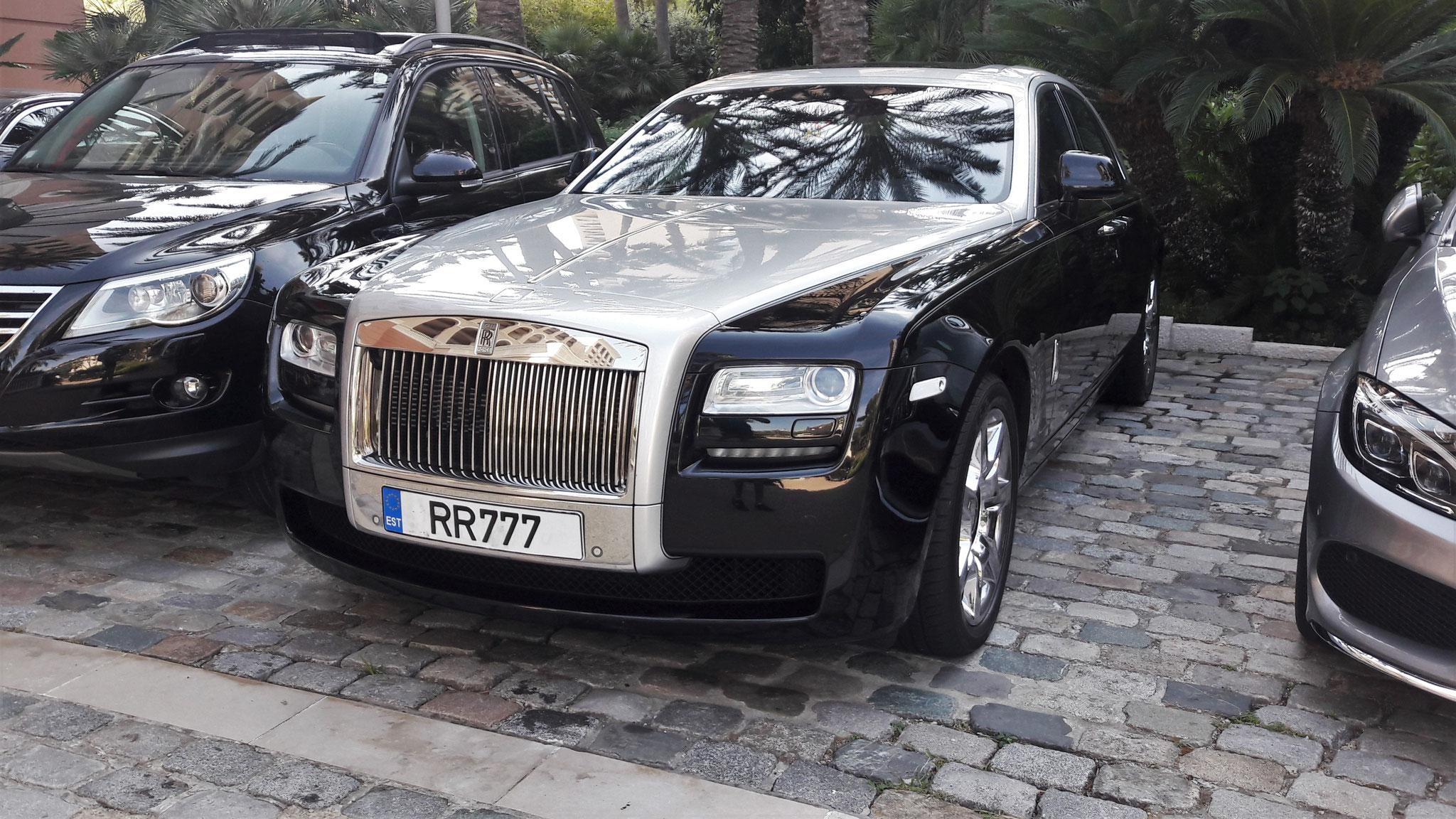 Rolls Royce Ghost - RR-777 (EST)