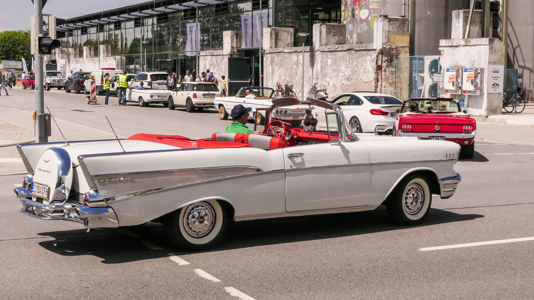 Chevrolet Bel Air Convertible - EI-BA-57H