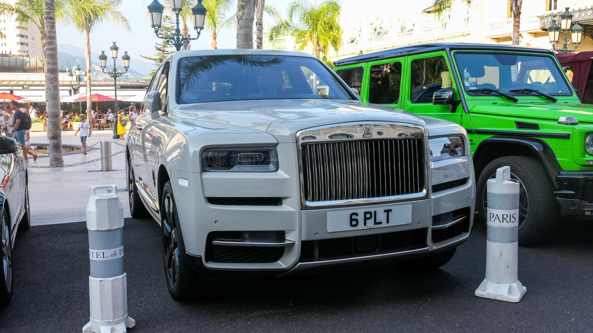 Rolls Royce Cullinan - 6-PLT (GB)