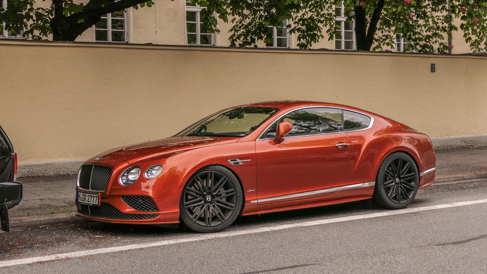Bentley Continental GT Speed - M-DR-2777