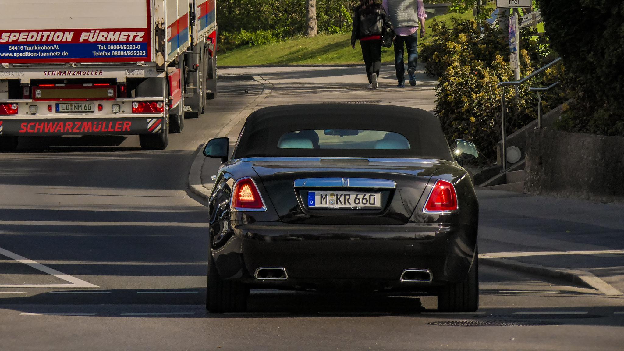 Rolls Royce Dawn - M-KR-660