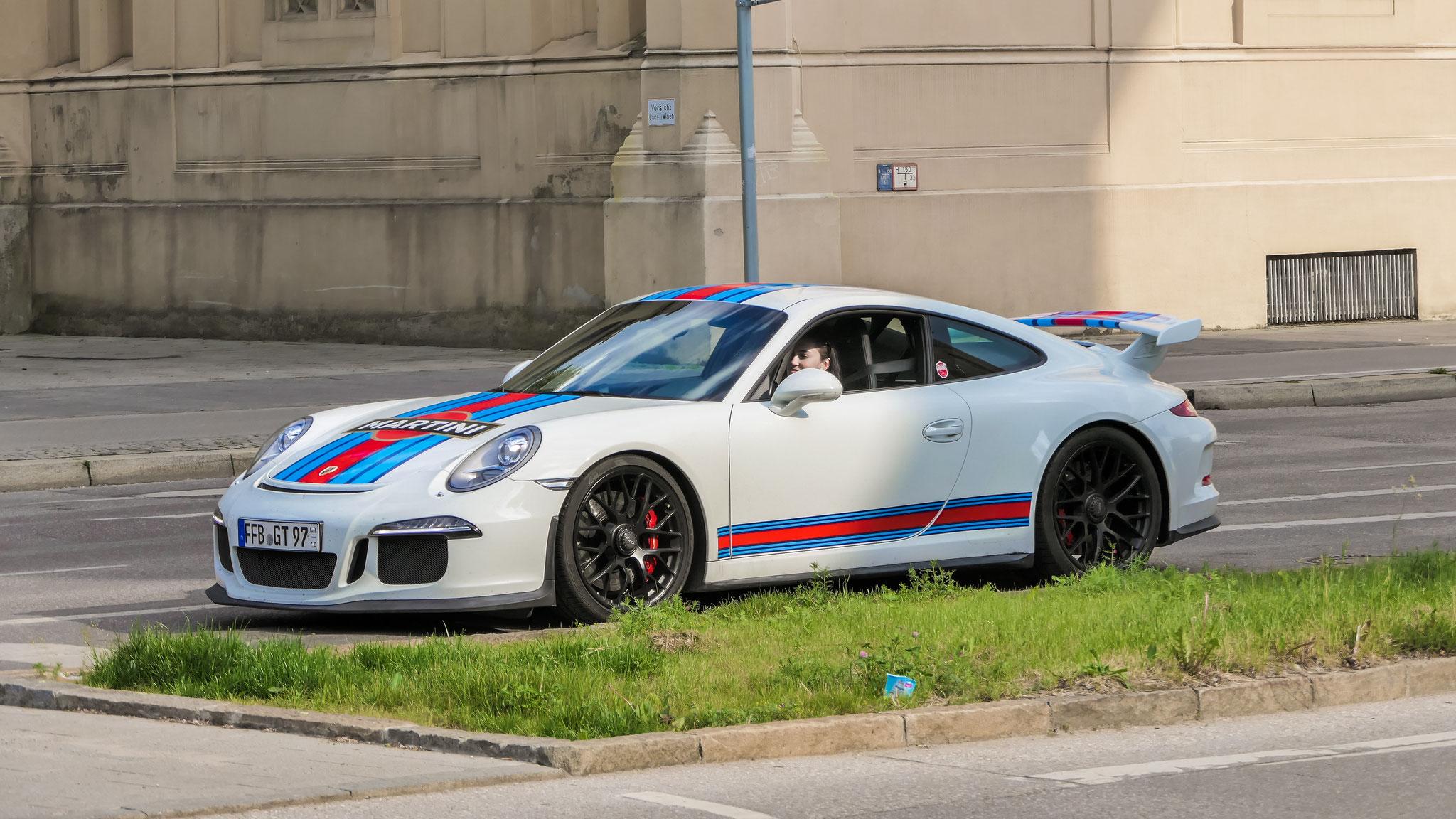 Porsche 991 GT3 - FFB-GT-97