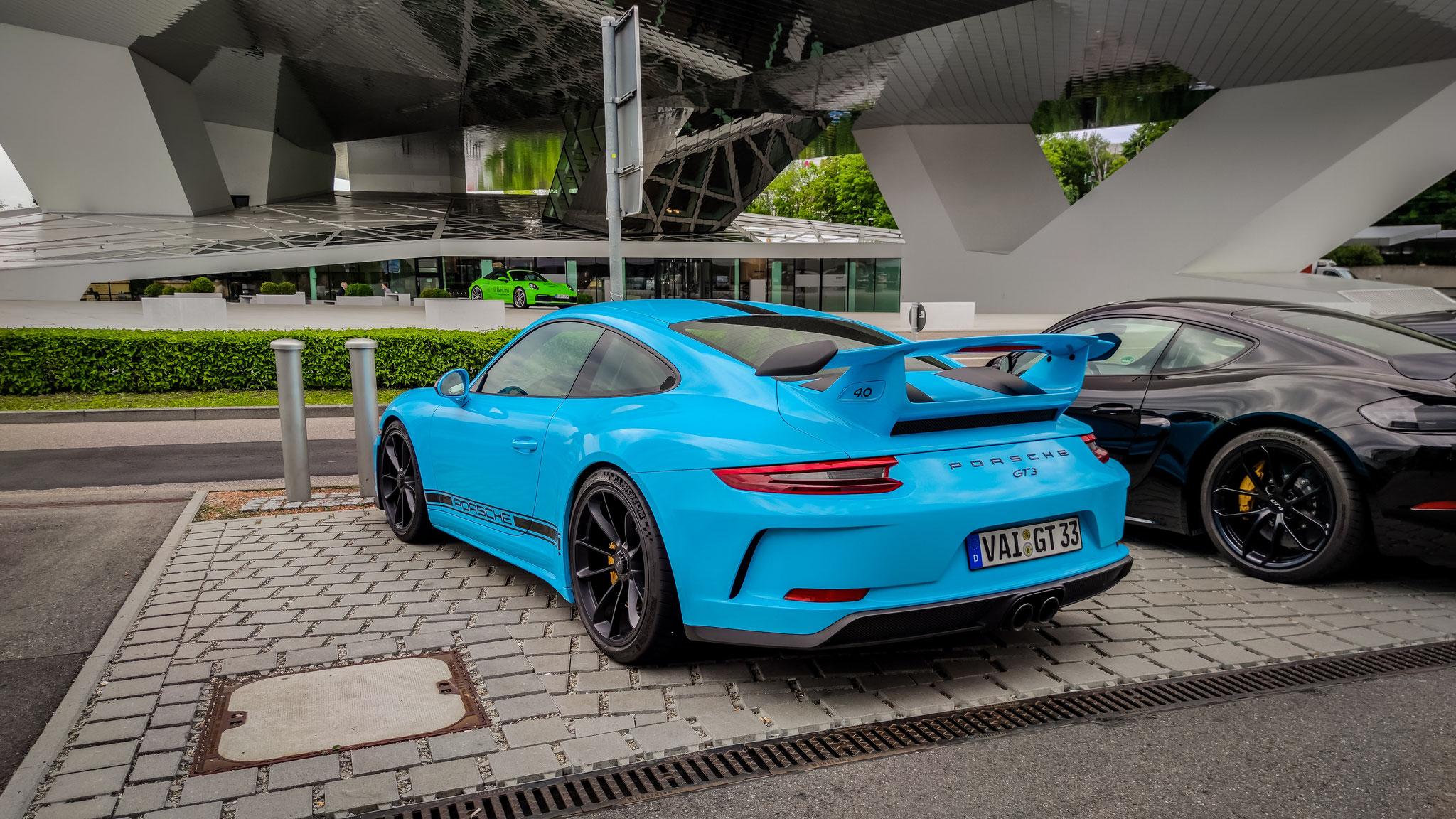 Porsche 991 GT3 - VAI-GT-33