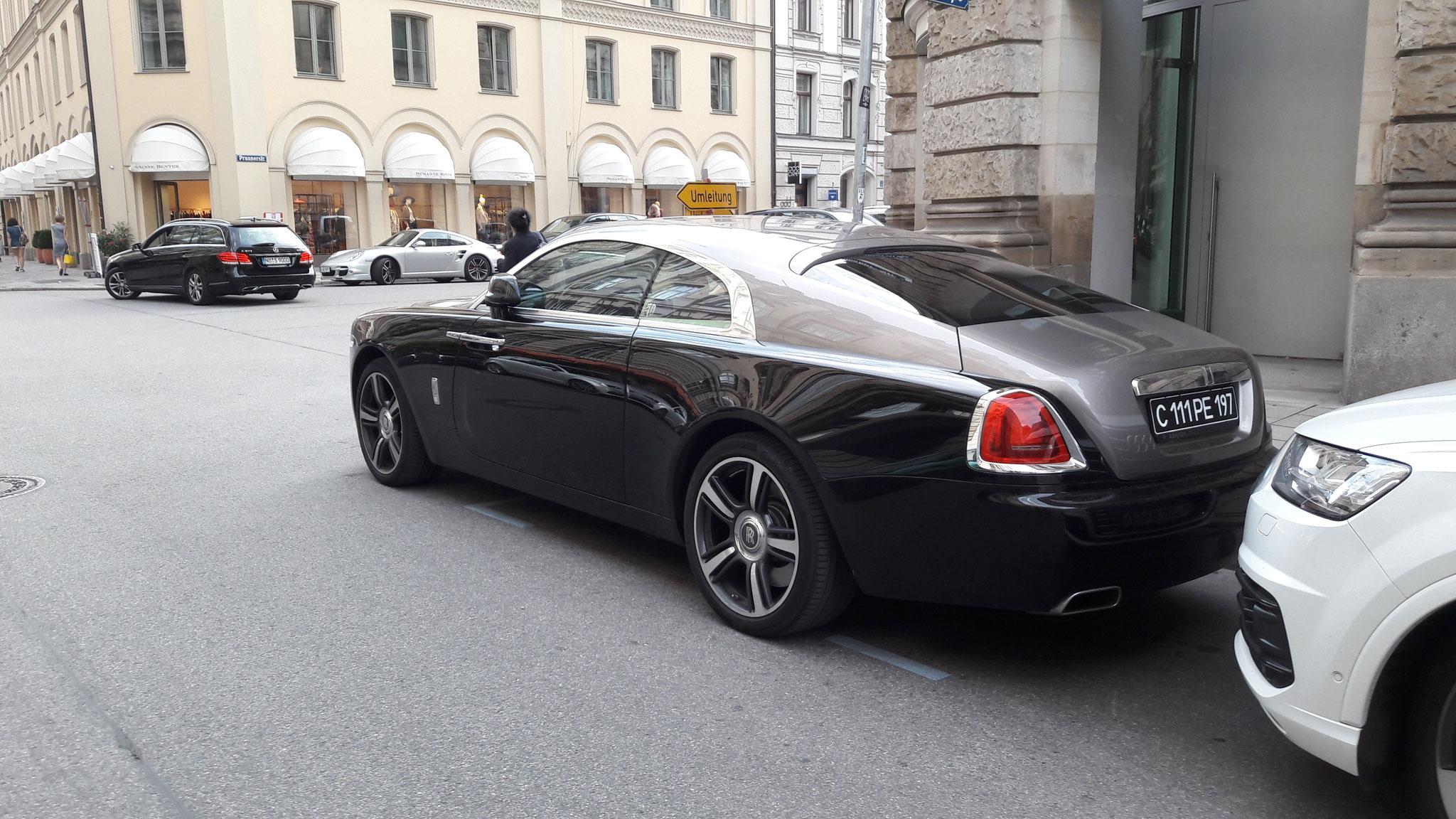 Rolls Royce Wraith - C-111-PE-197 (RUS)