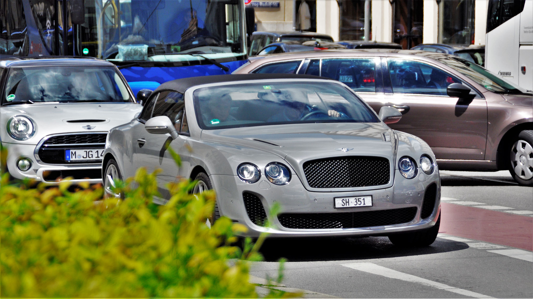 Bentley Continental GTC Supersports - SH-351 (CH)