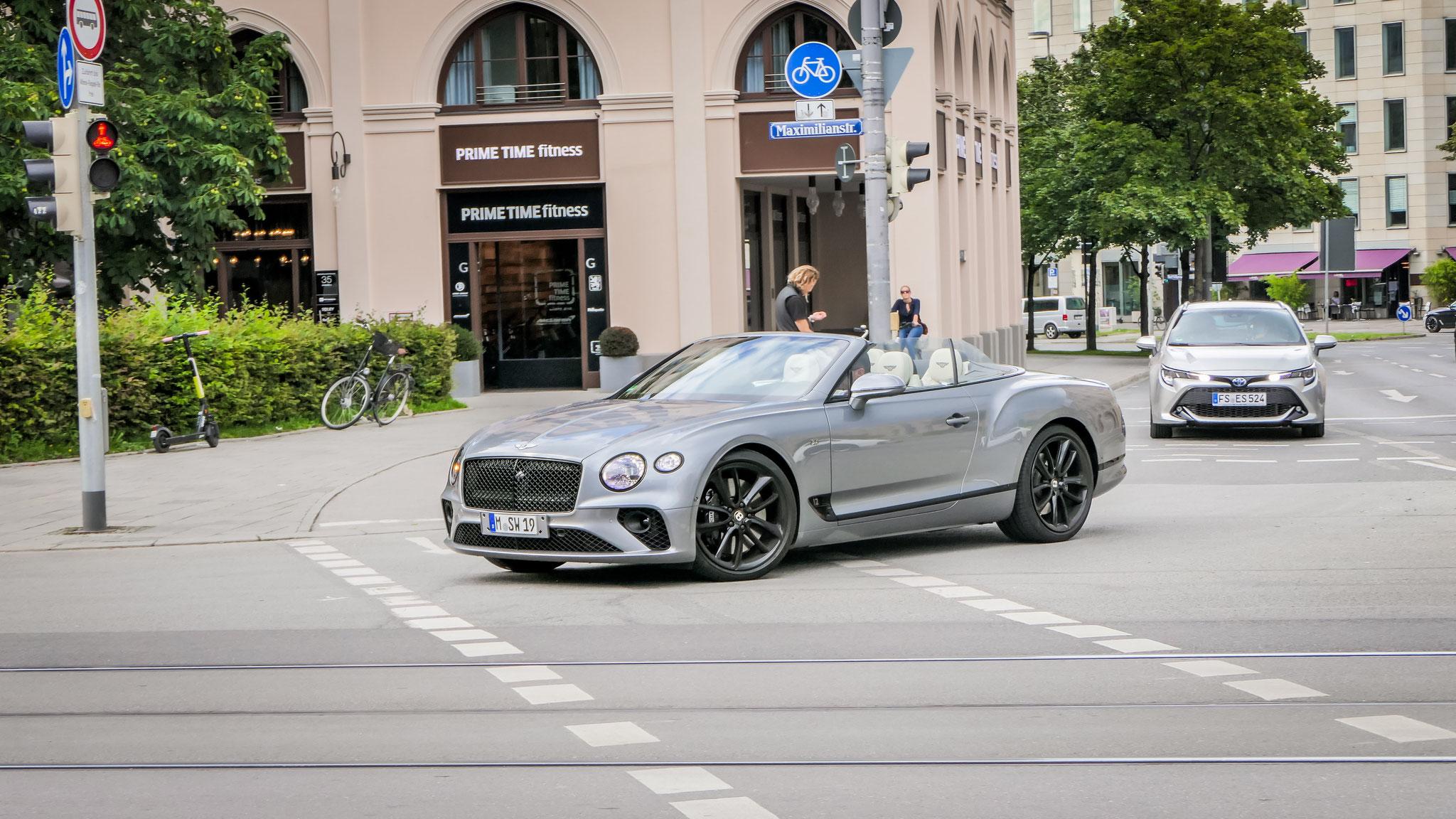 Bentley Continental GTC - M-SW-19