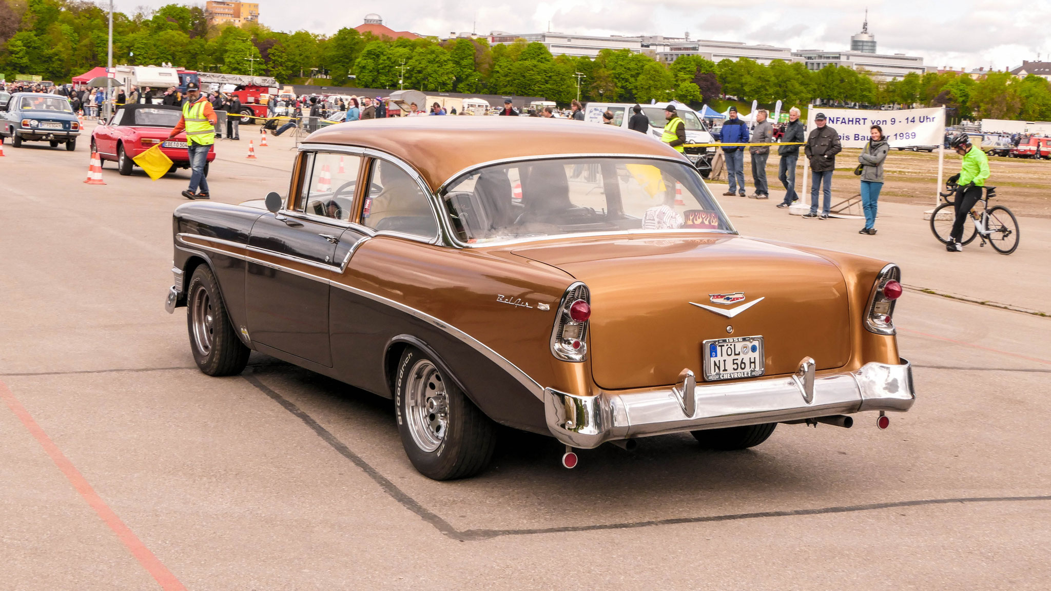 Chevrolet Bel Air - TÖL-NI-56H