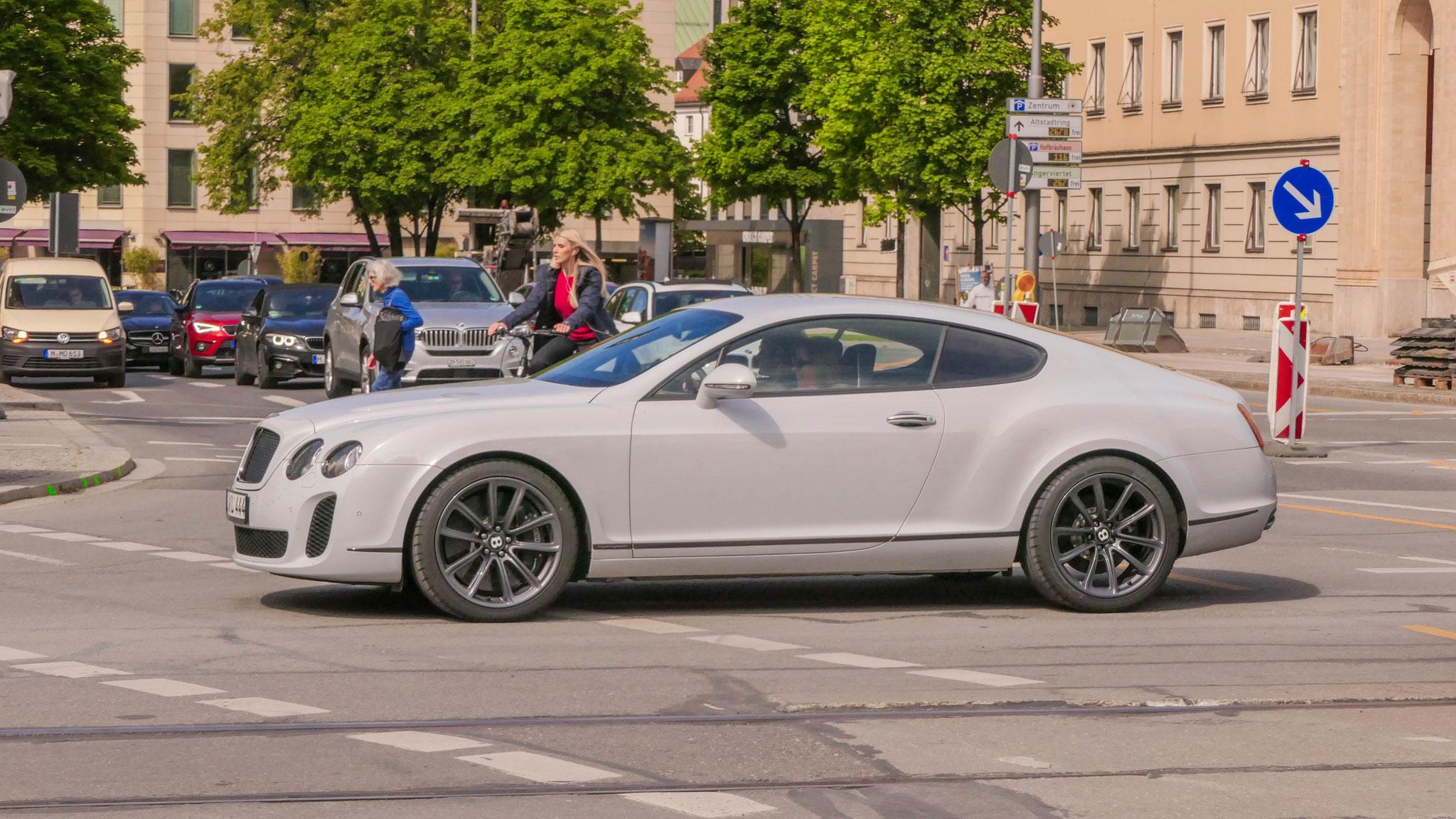 Bentley Continental GT Supersports - GS-KL-444